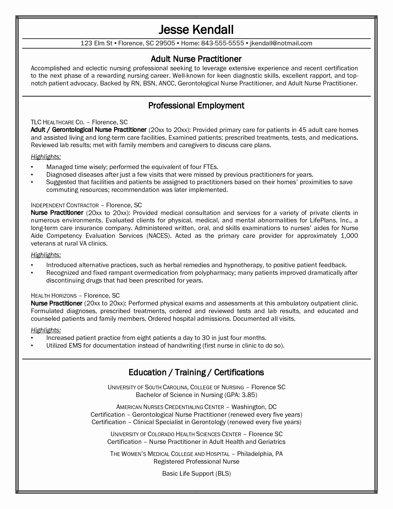 Nicu Nurse Responsibilities Resume - Private Duty Nurse Sample Resume – Legacylendinggroup