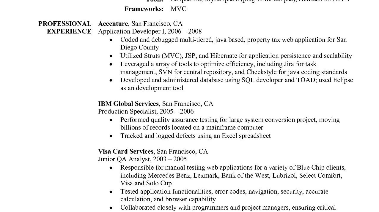 12 node js resumes examples resume database template