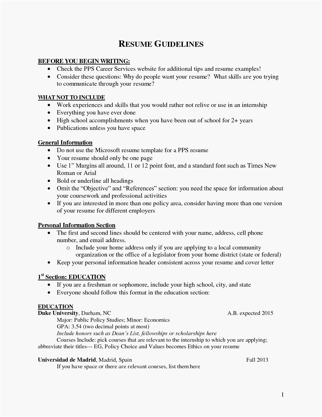 Non Profit Resume Templates - How to List Gpa Resume 30 Resumes for Non Profit Free Resume