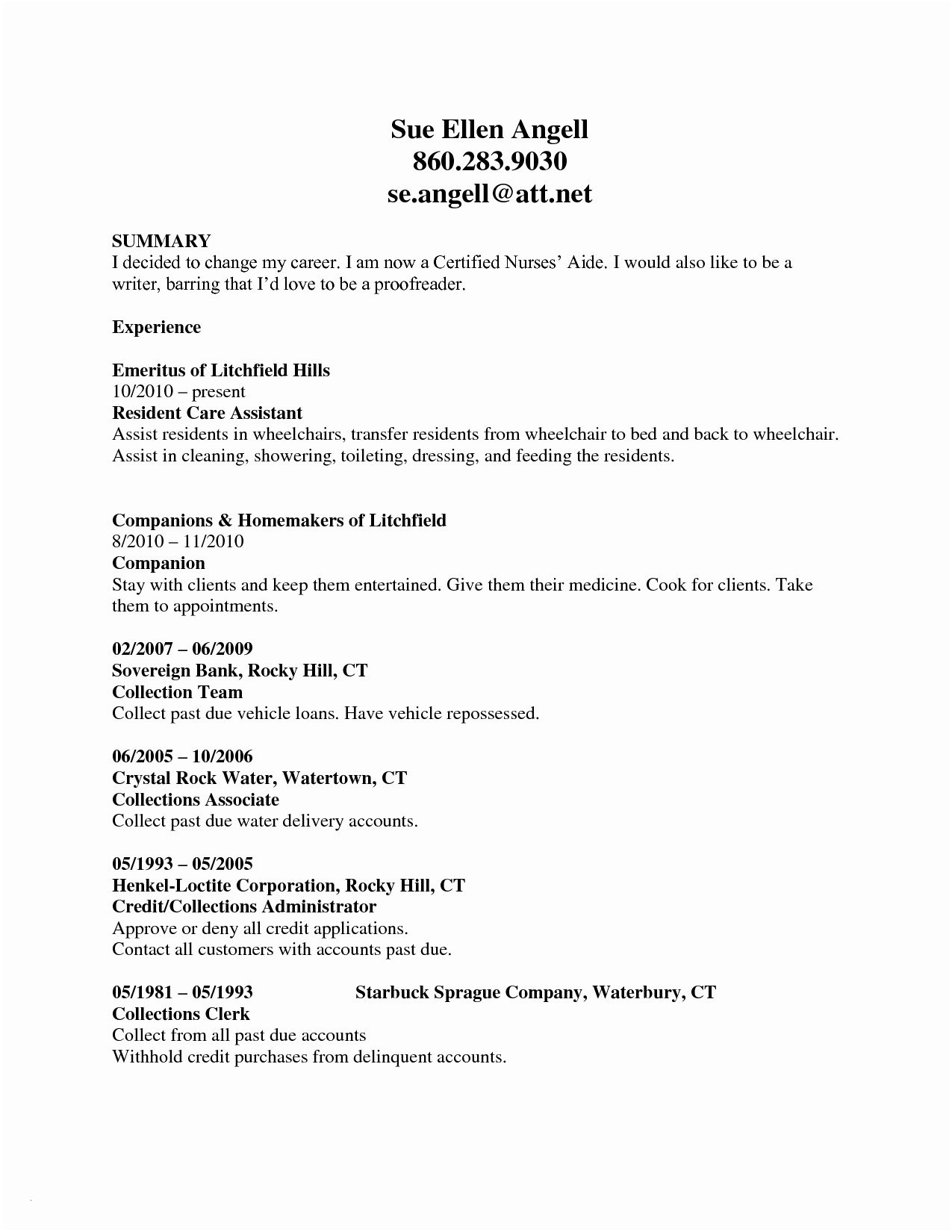 Nurse Resume Template Word - Nursing Resume Template Word Best Nursing Resume Templates Word