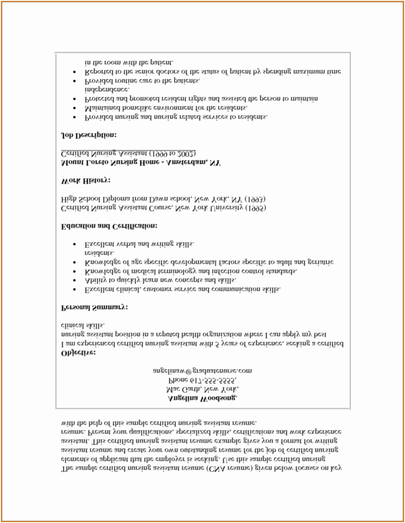 Nursing assistant Resume Examples - Rn Resume Sample Nursing assistant Resume Samples Guve Securid Co