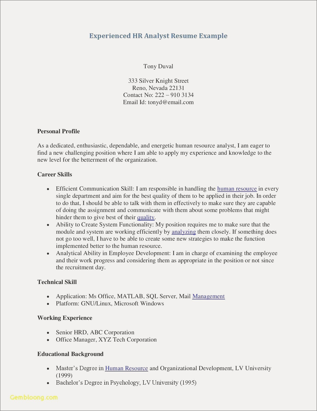 Office Manager Description for Resume - Resume Fice Manager