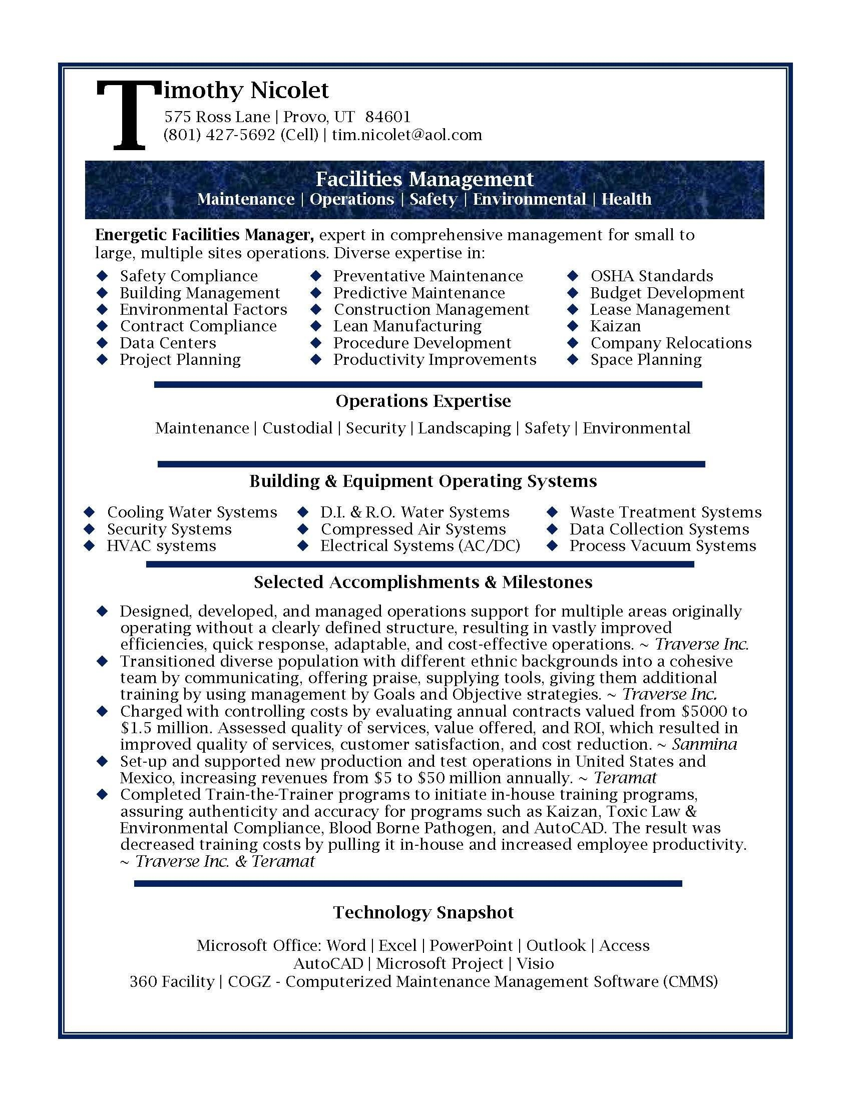Office Manager Resume - 17 Sample Fice Manager Resume
