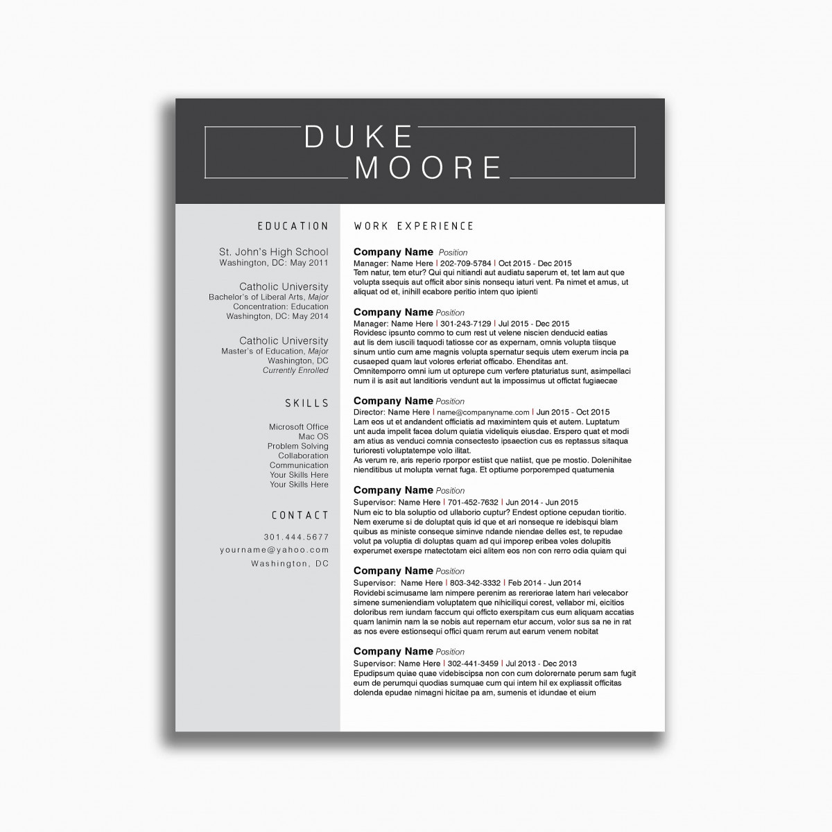 Pastoral Resume Template - Pastor Resume Pretty Music Resume Template Awesome 47 Fresh Ministry
