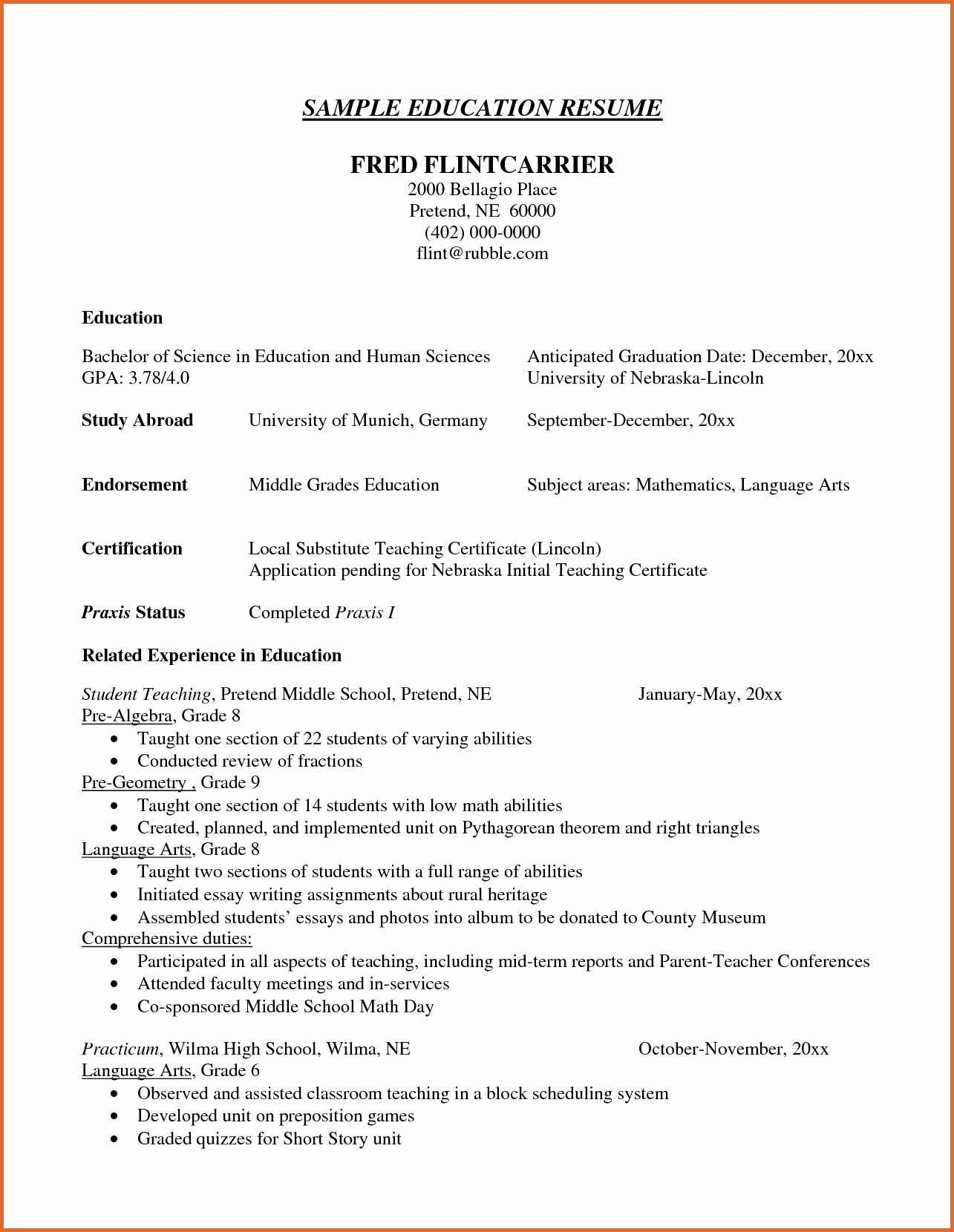 Peace Corps Resume Example - 16 Peace Corps Resume