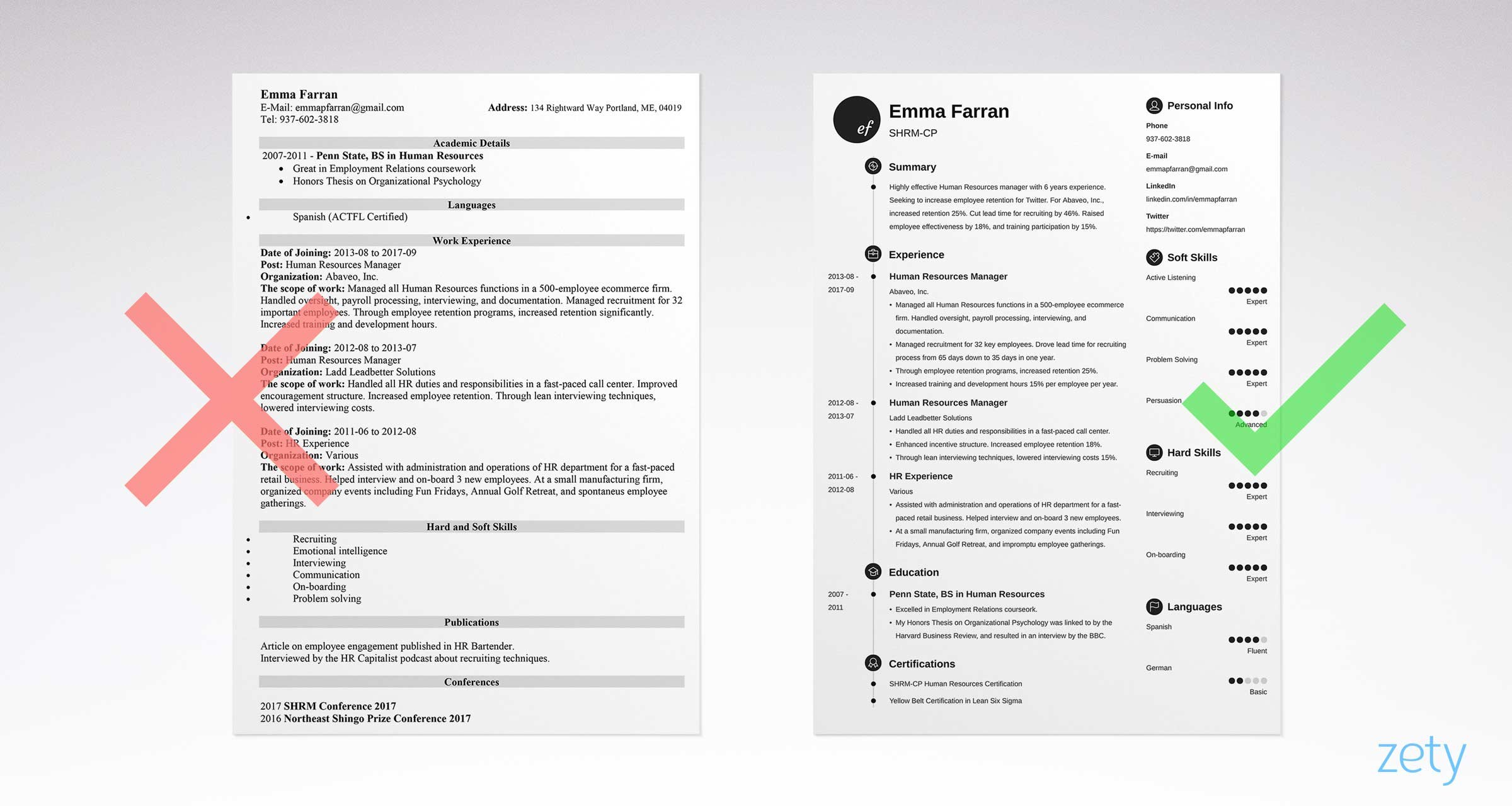 Penn State Resume Template - Basic Resume Templates 15 Examples to Download & Use now