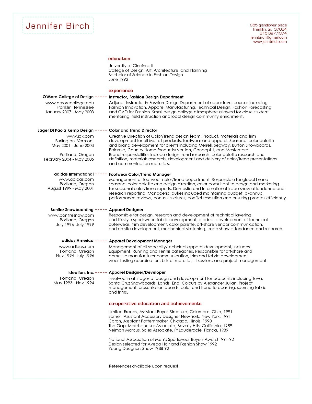 Performance Resume - Sample Sales Management Resume New Retail Store Manager Resume Best