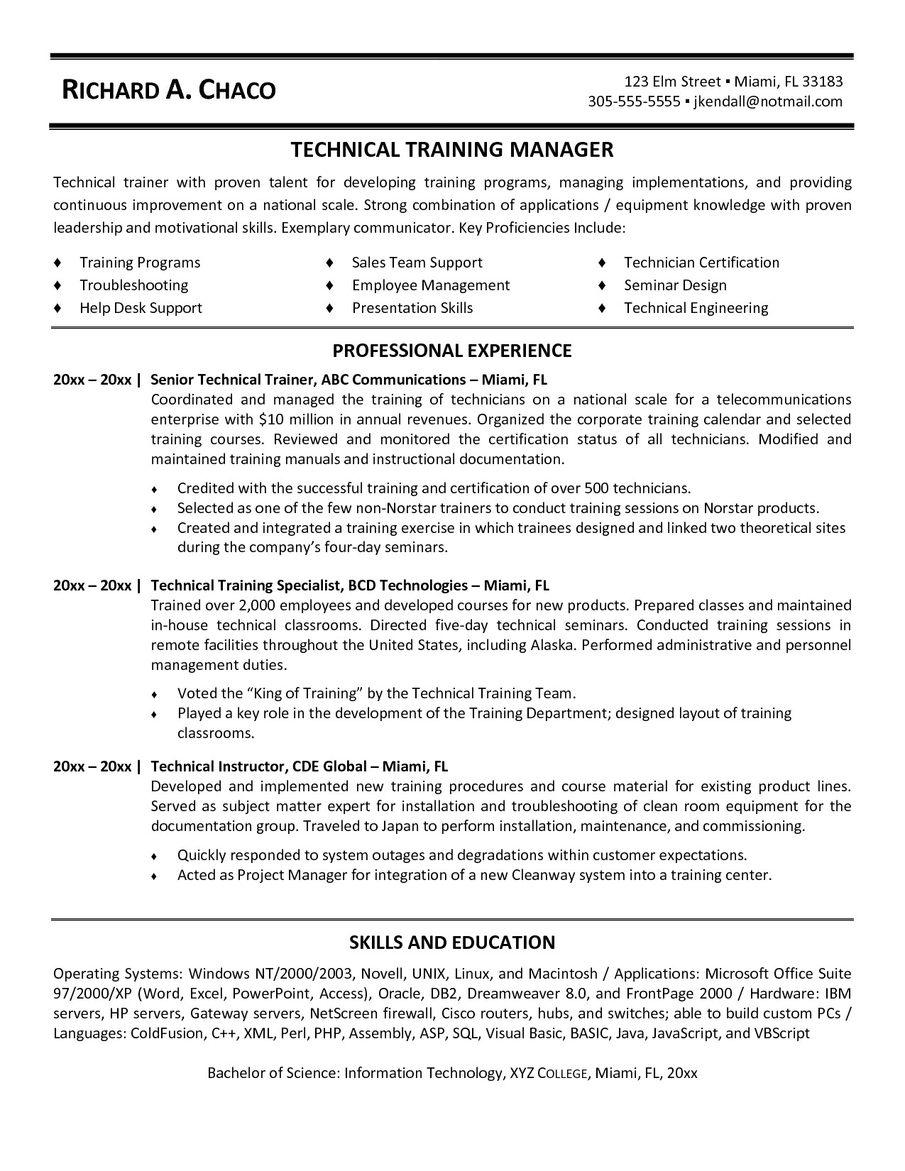 Personal Trainer Resume - 46 Best Fitness Instructor Resume