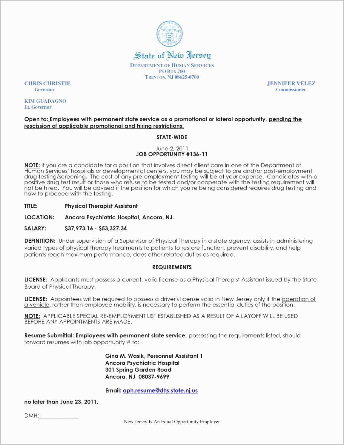 Physical therapy Aide Resume Sample - Physical therapist Cover Letter Template Samples