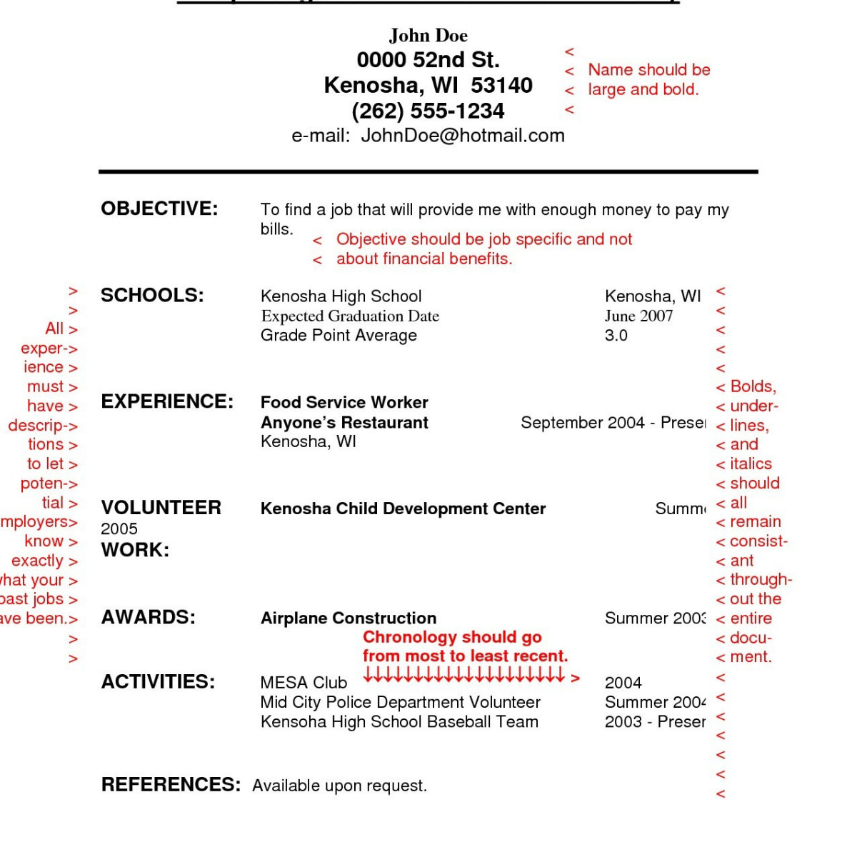 Police Resume Template - Create Resume for High School Student Magnificent Beautiful Make A