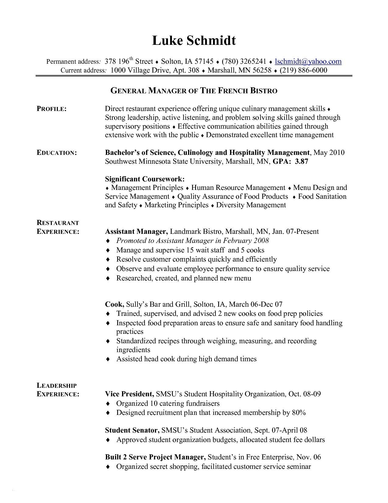 Prep Cook Resume Examples - 18 Line Cook Resume