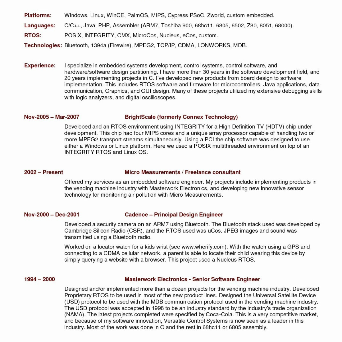 Principal Resume Template - Art Director Resume Sample Magnificent It Director Resume Awesome