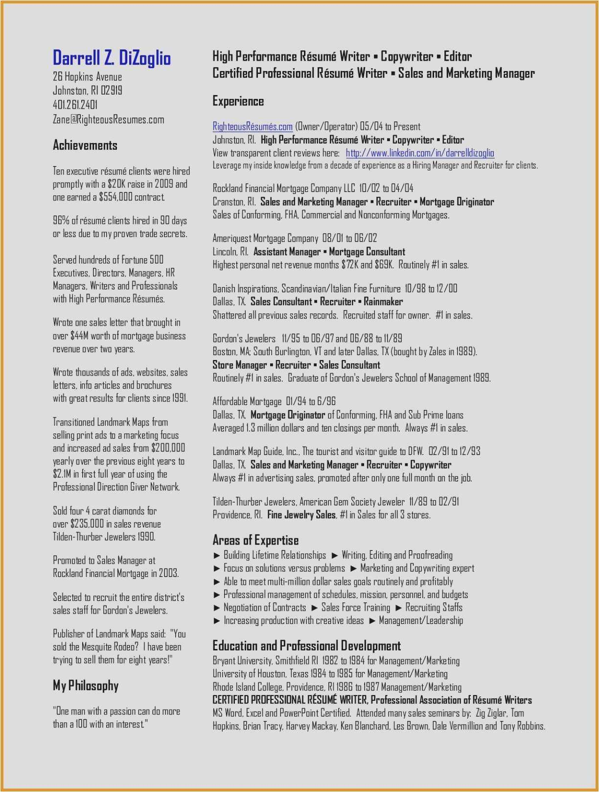 Professional association Of Resume Writers - 29 New Resume with Cover Letter Sample