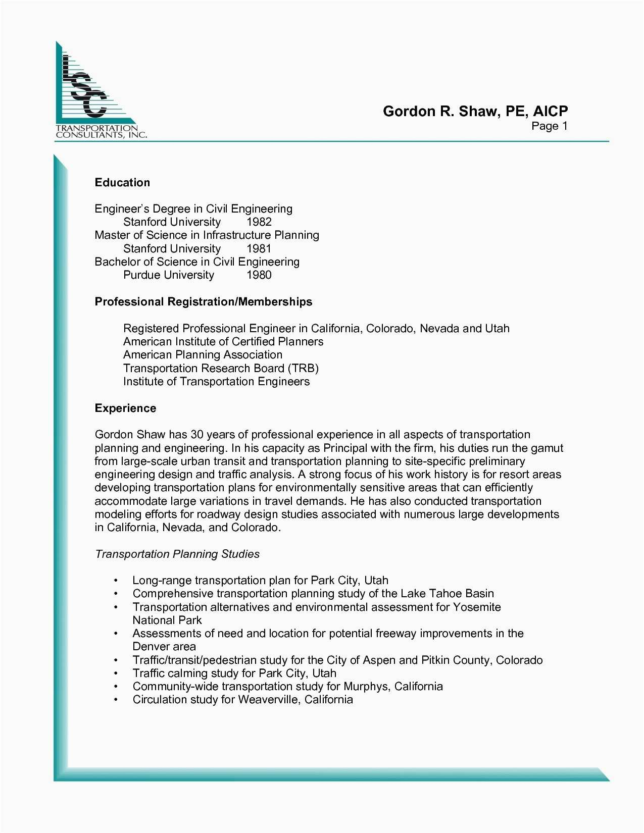 Professional Engineer Resume Template - 26 New Technical Resume Writer Examples