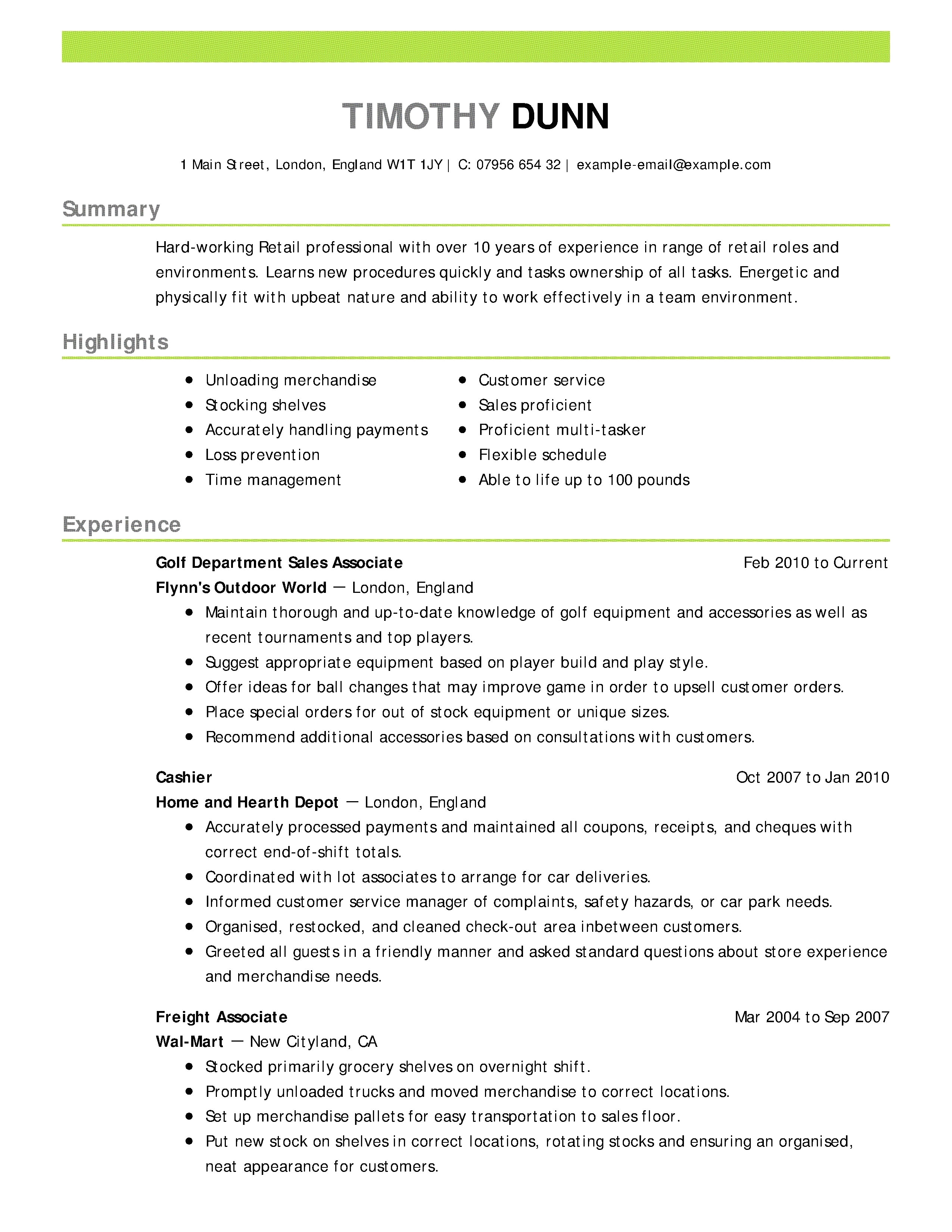 Professional Free Resume Templates - 37 Concepts Nice Resume Templates