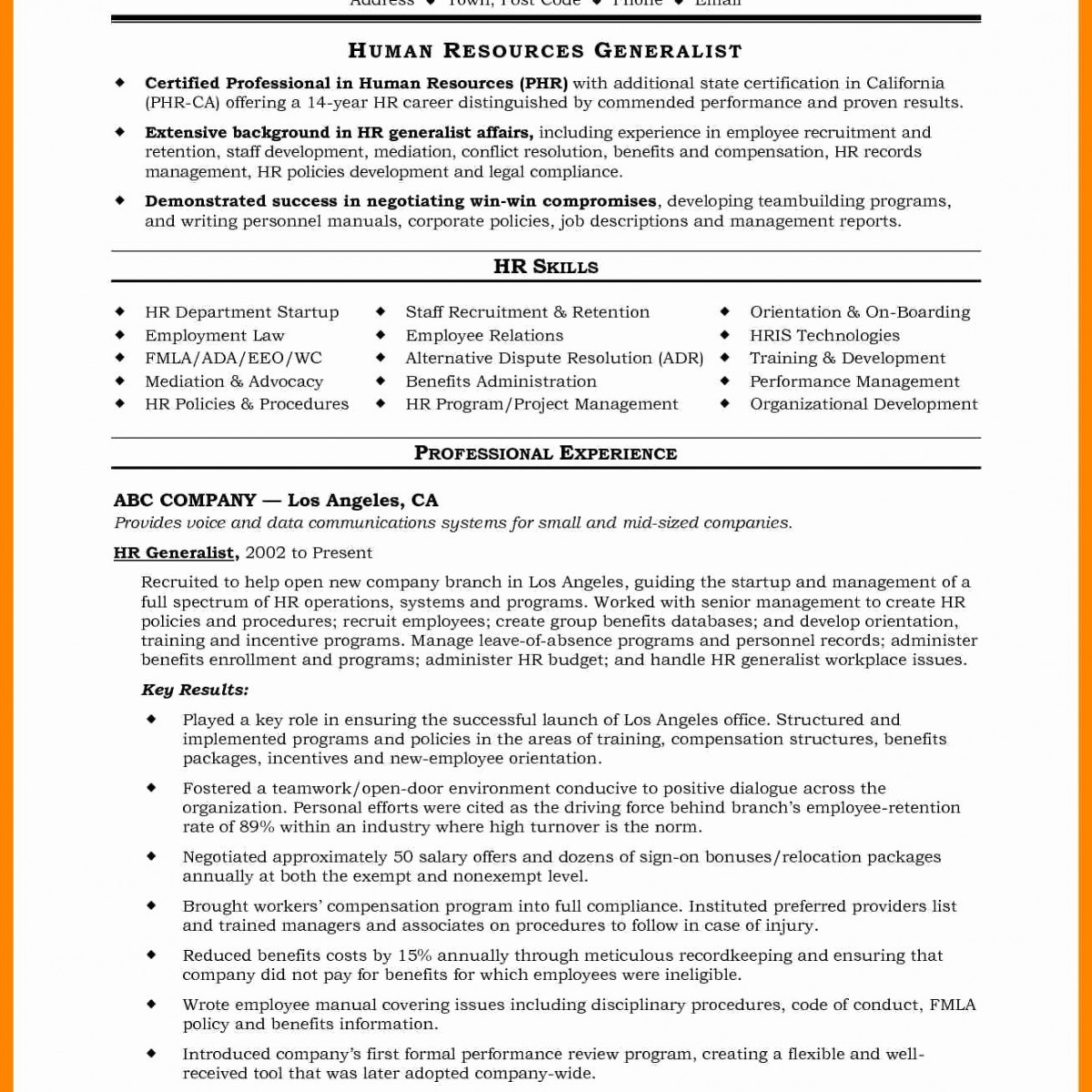 Professional Resume Layout - 32 Lovely Sample Resume for A Job T7b