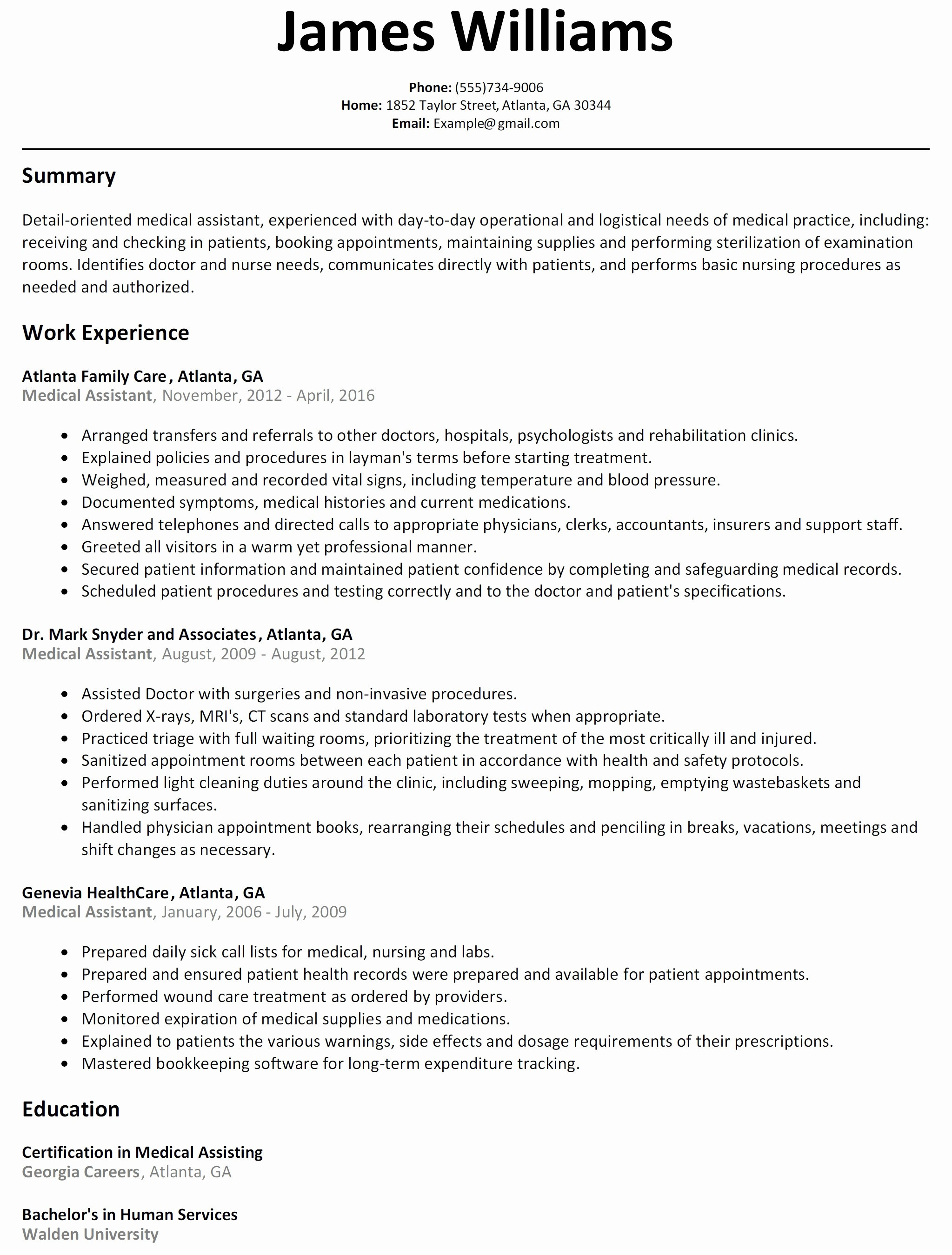 Professional Resume Template Free - Basic Sample Resume Best Open source Resume Templates Simple