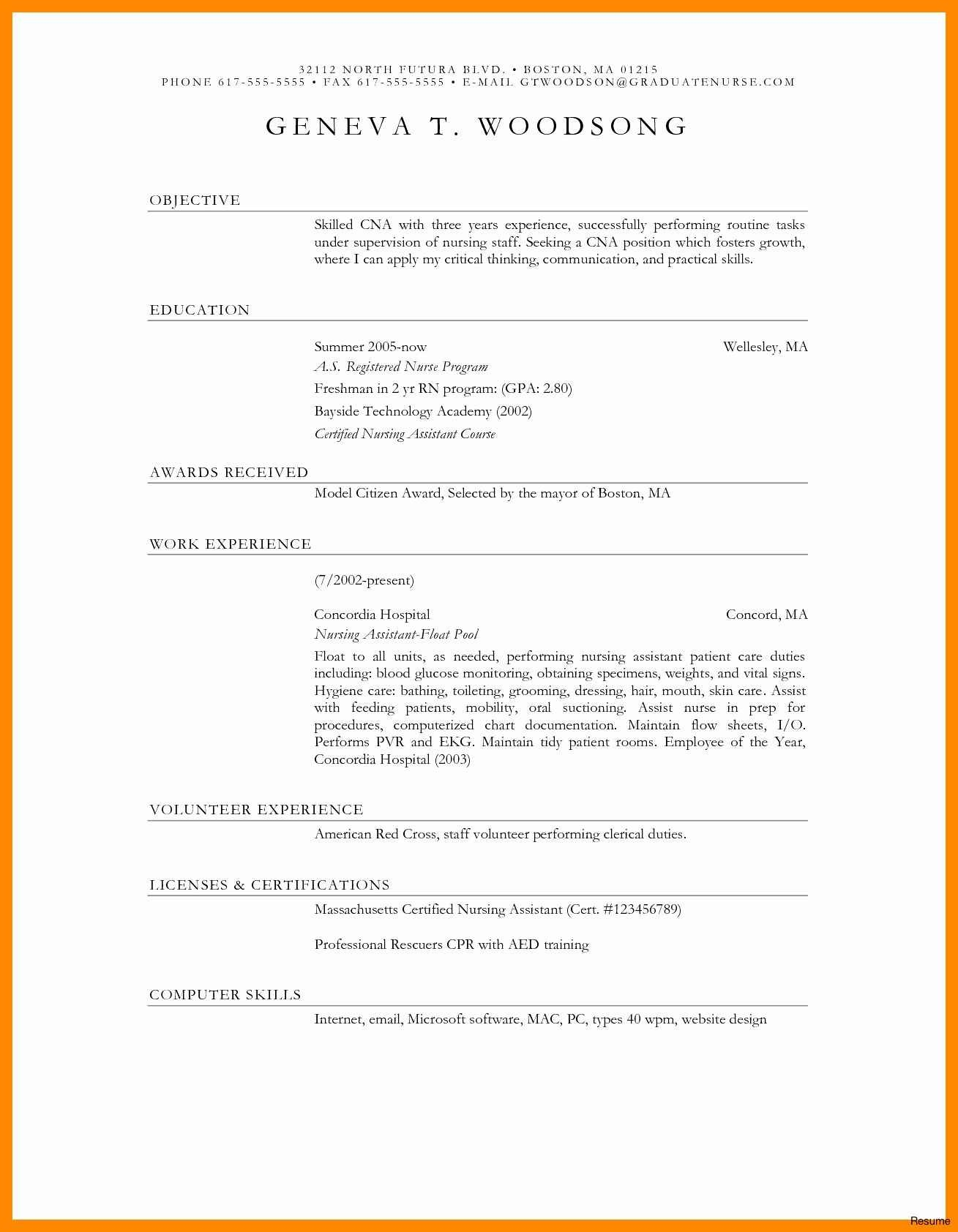 Professional Resume Writers Boston - Example Cover Letters for Resume Luxury Outdoor Resume Template