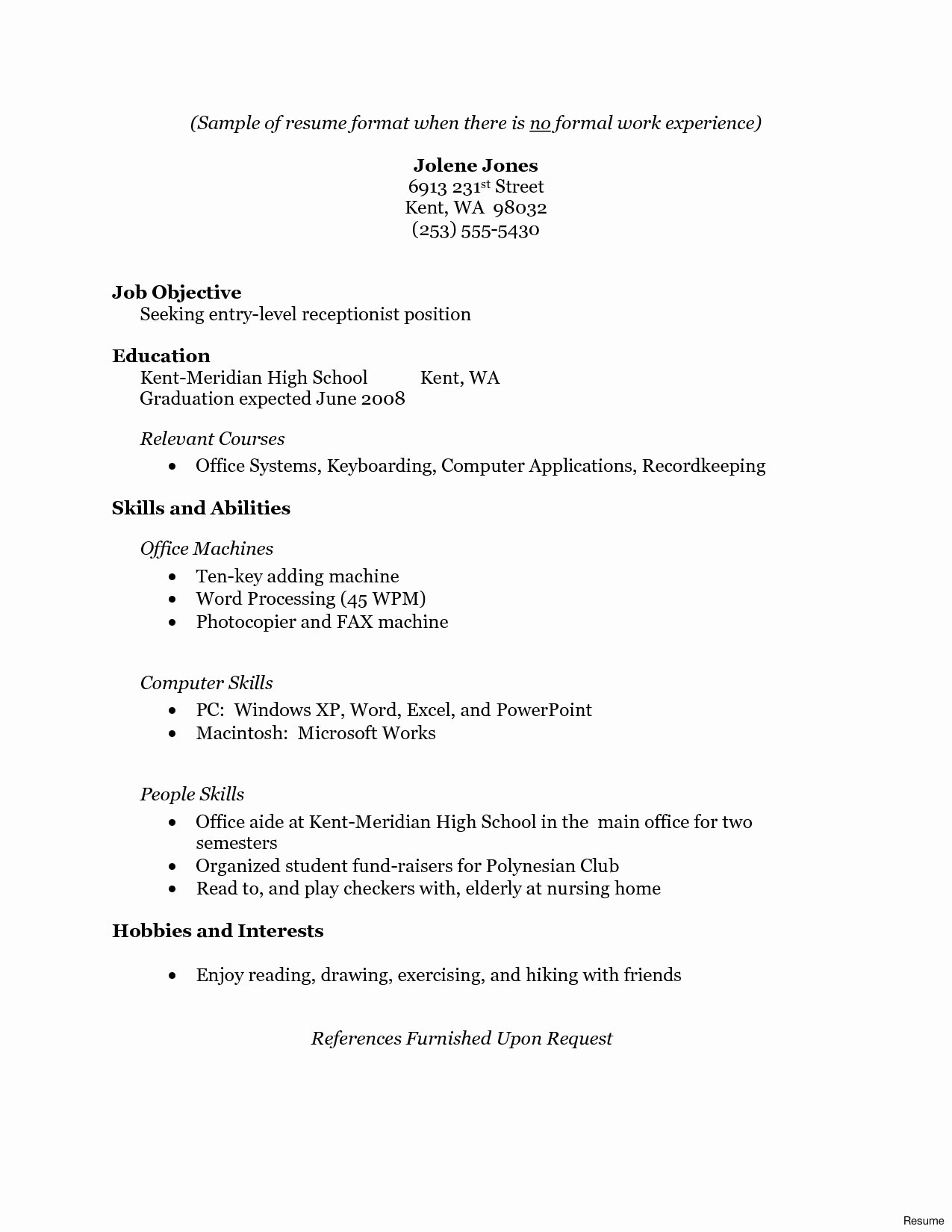 Professional Summary for Resume No Work Experience - Resume Professional Summary Examples Awesome Resume for Law School