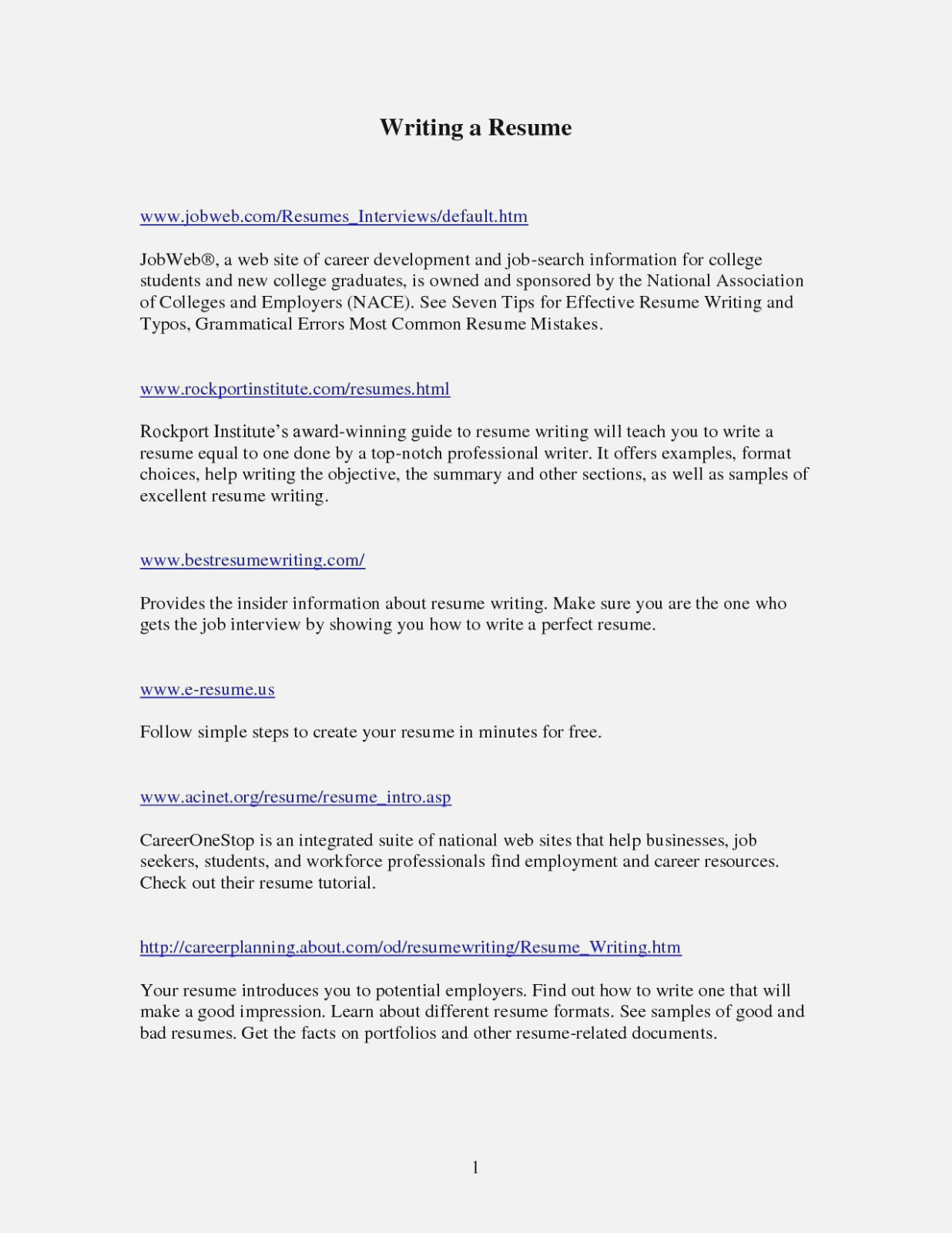 Professional Summary for Resume No Work Experience - 14 Various Ways to Do