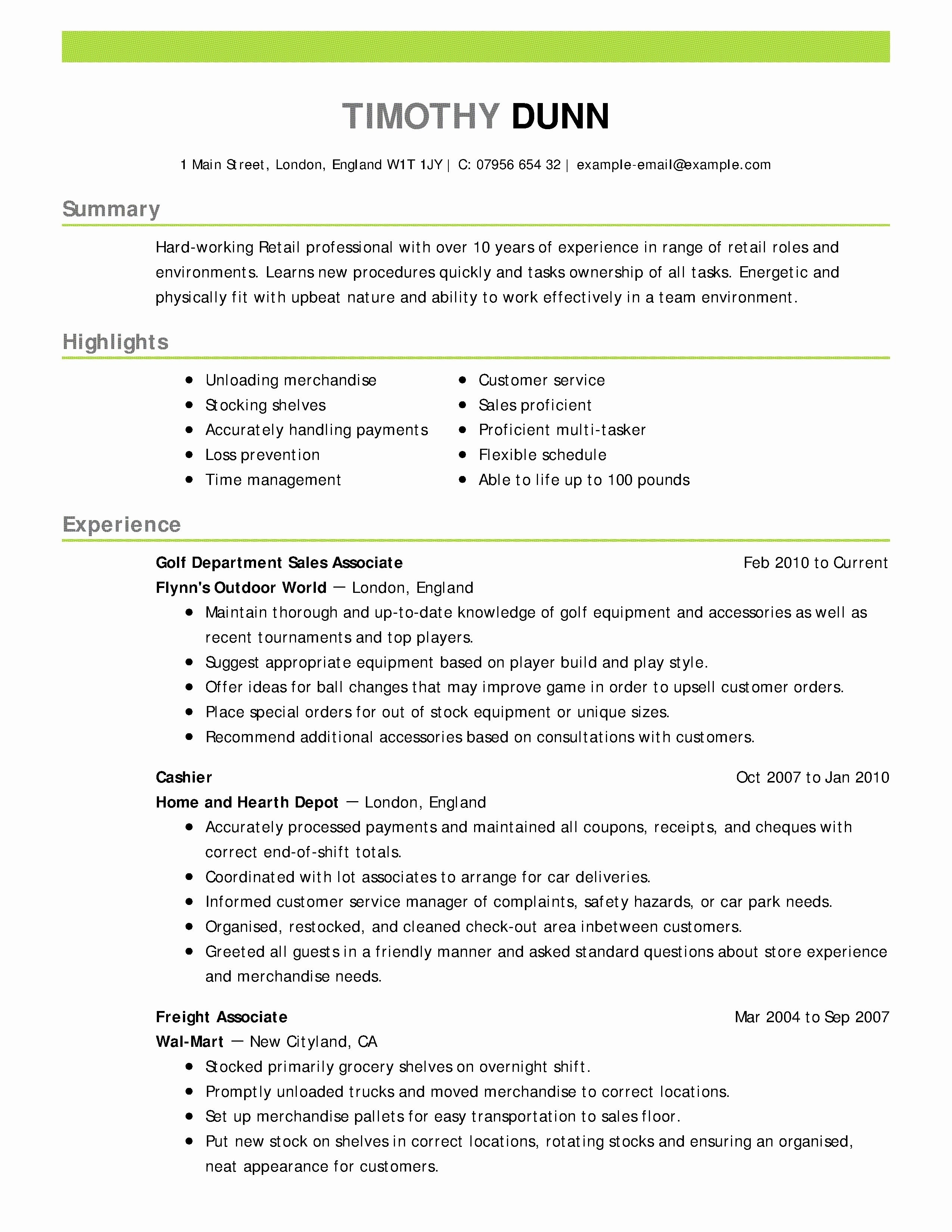Professional Summary No Experience - 17 Modeling Resume No Experience