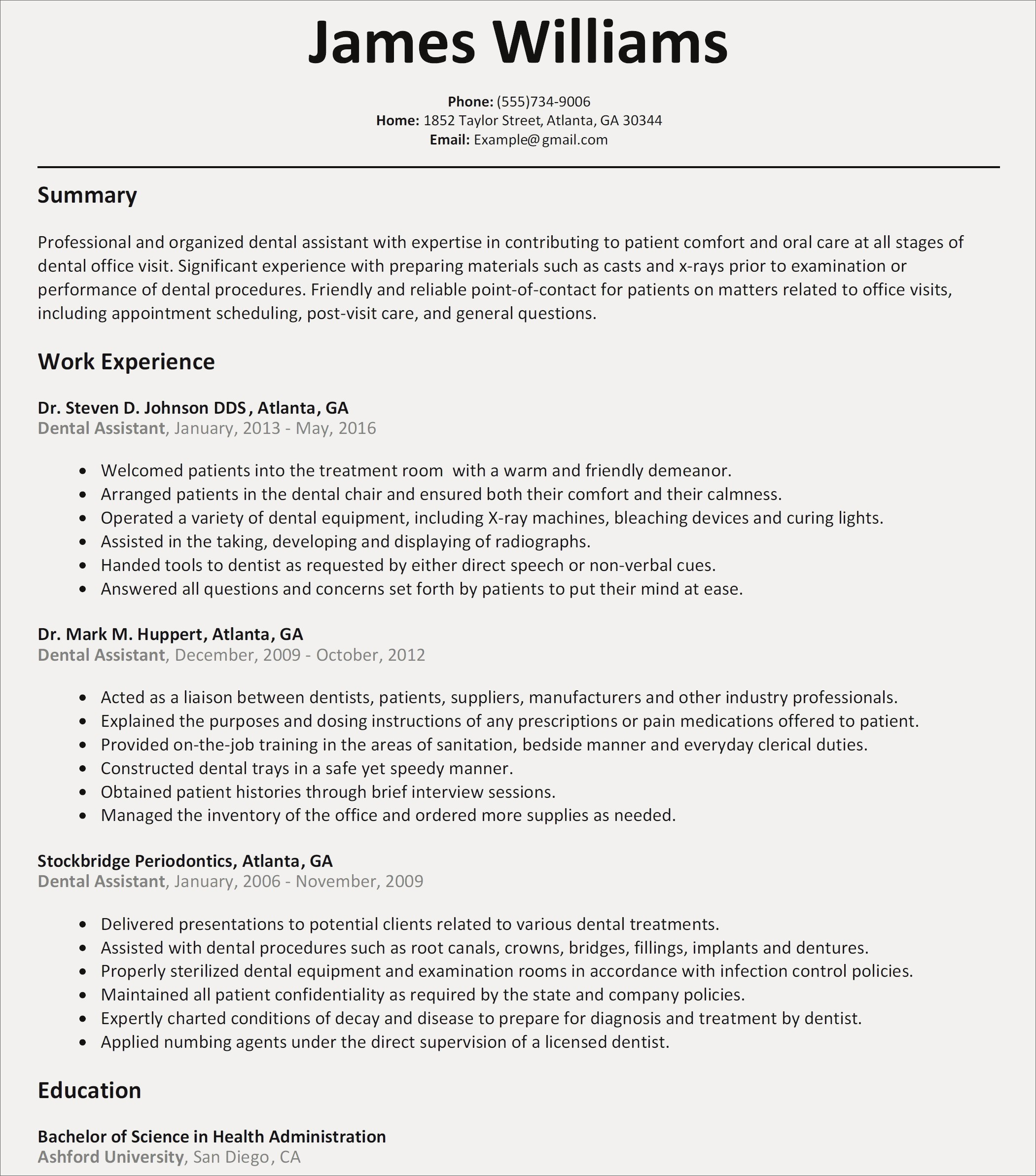 83 Examples Of Summaries For Resumes