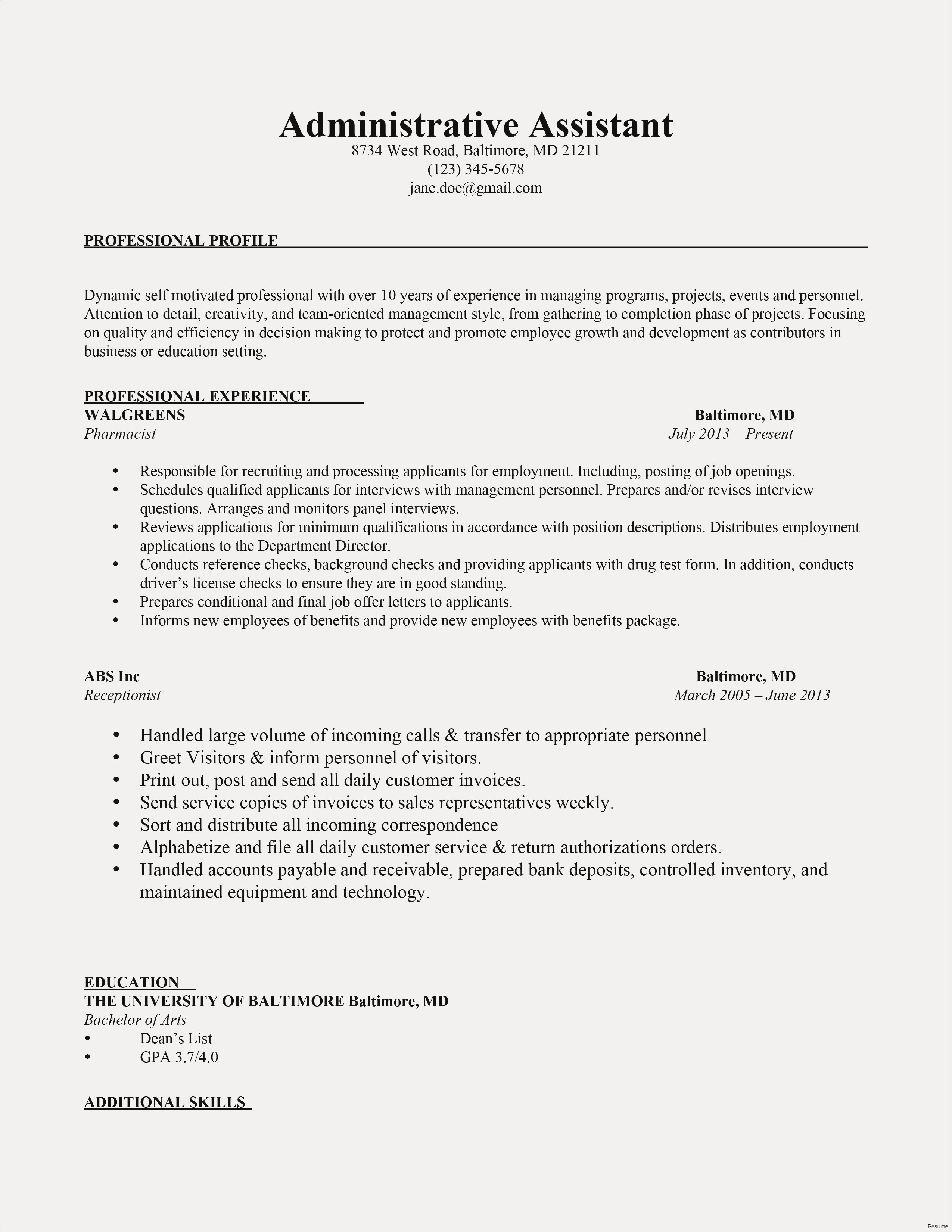 profile on a resume example-Example Resume Profiles Fresh Profile Resume Examples Unique Cto Resume 0d Wallpapers 50 Skills 13-h