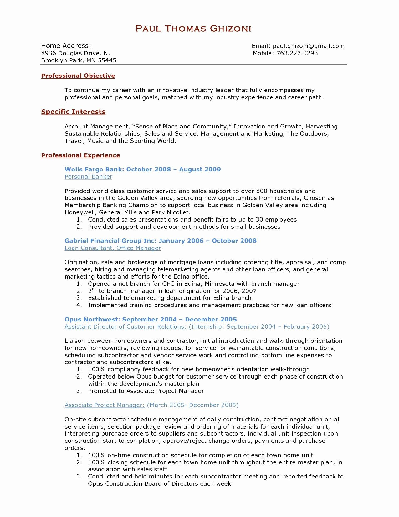 Project Management Resume Samples - Project Management Resume Samples Inspirational Manager Resume
