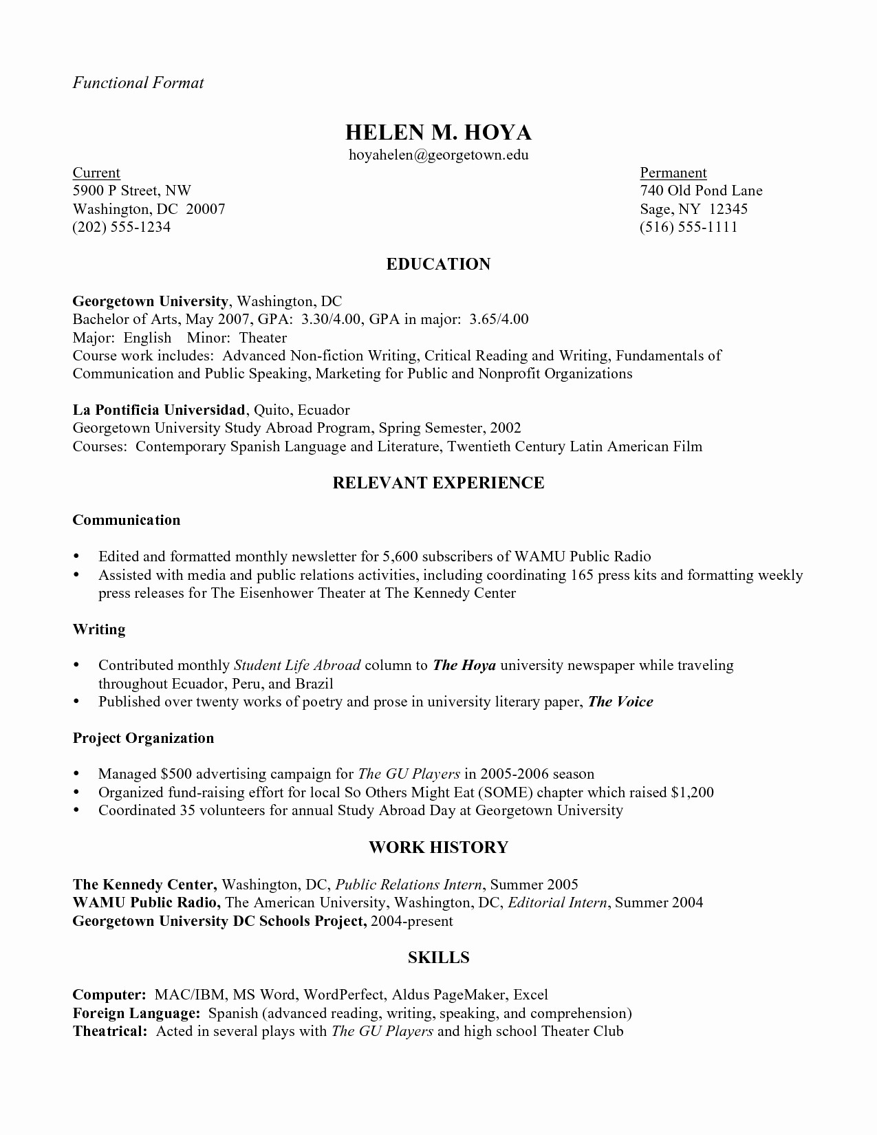 Public Speaker Resume Sample - 20 Public Speaking Resume