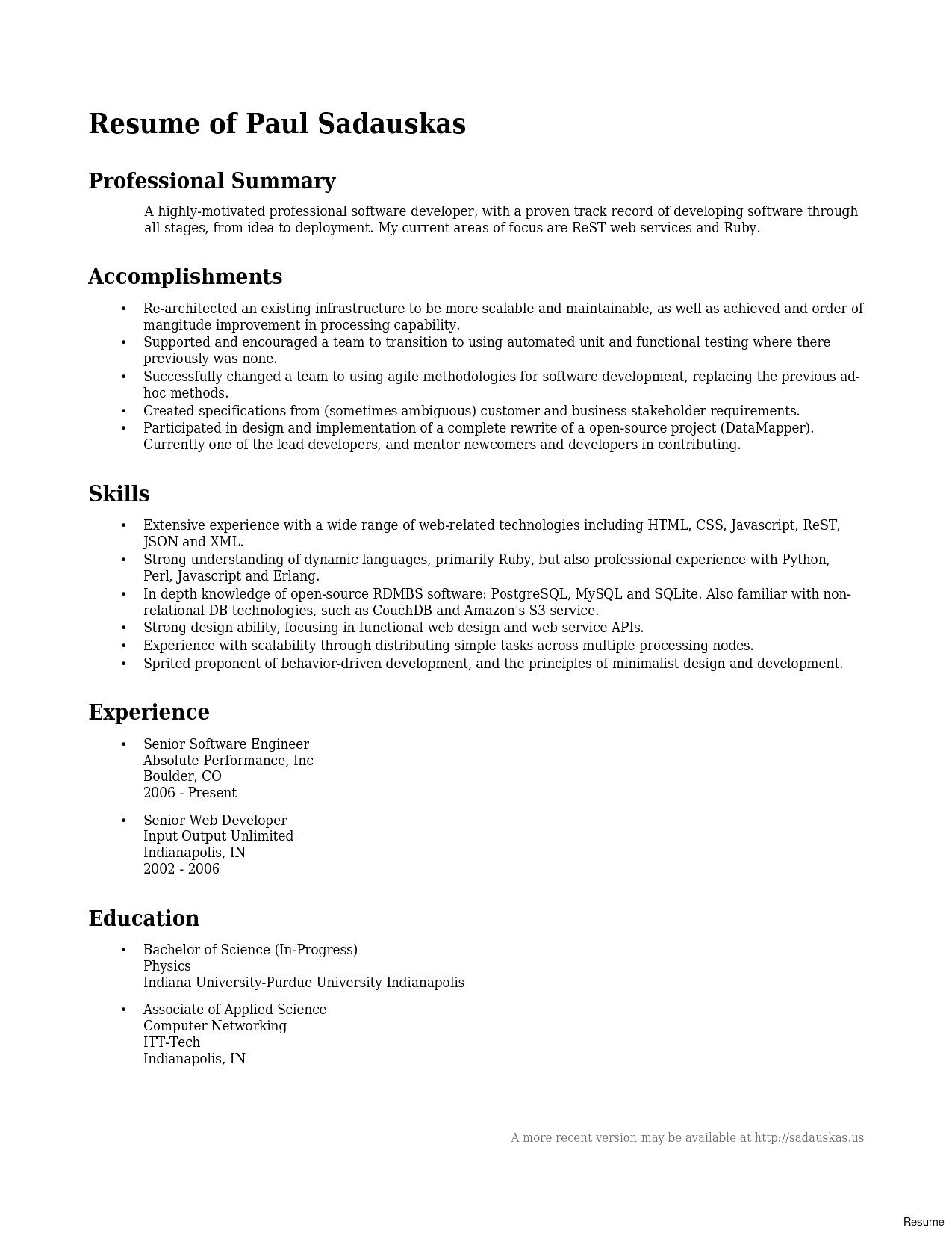 Purdue Resume Template - 47 New Puter Science Resume Template