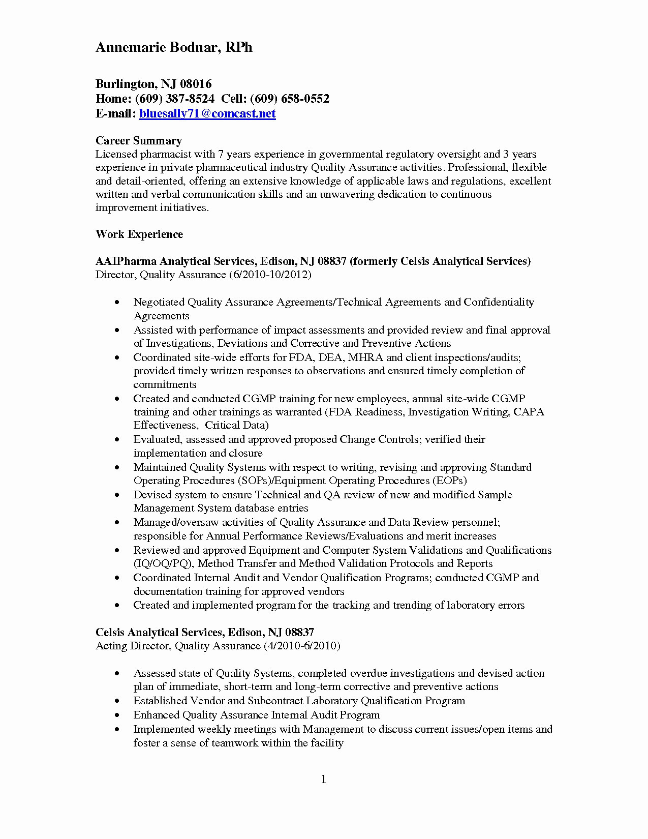 Quality Control Resume - Problem Action Result Statements Resume Best Bsw Resume 0d