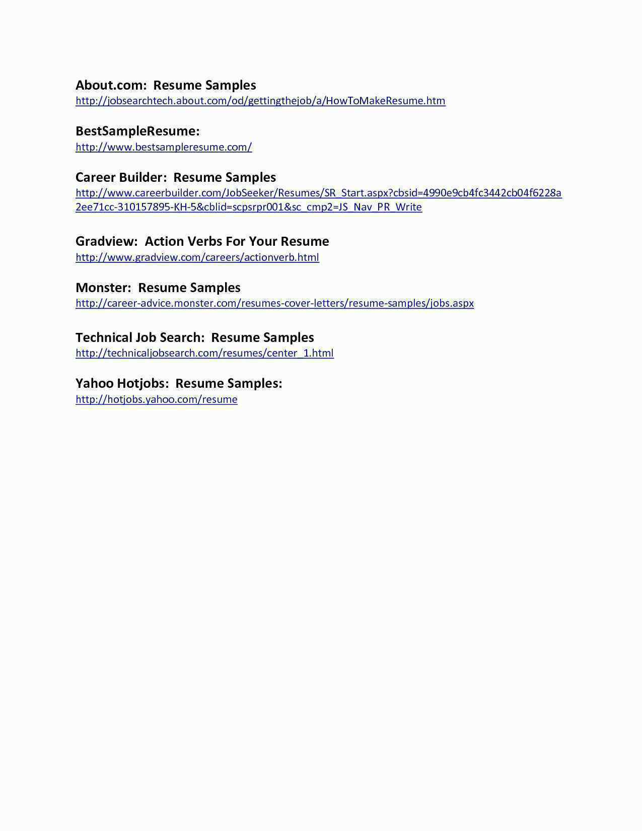 Ramit Sethi Resume Template - Search for Resume 46 Inspirational Career Builder Cool
