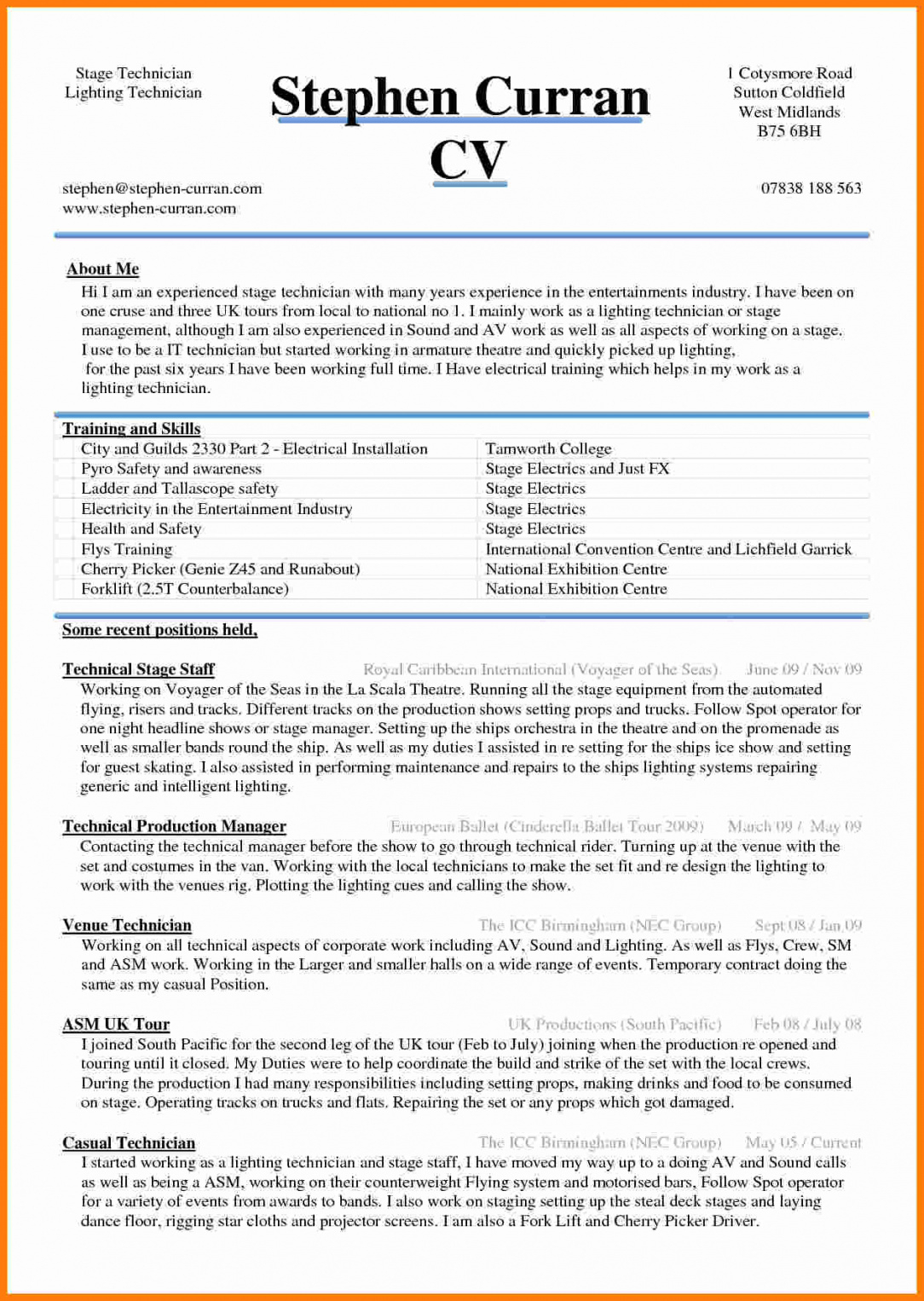 Ramit Sethi Resume Template - Resume Sample Word Document Cv Template In – Shahrvandemrouz