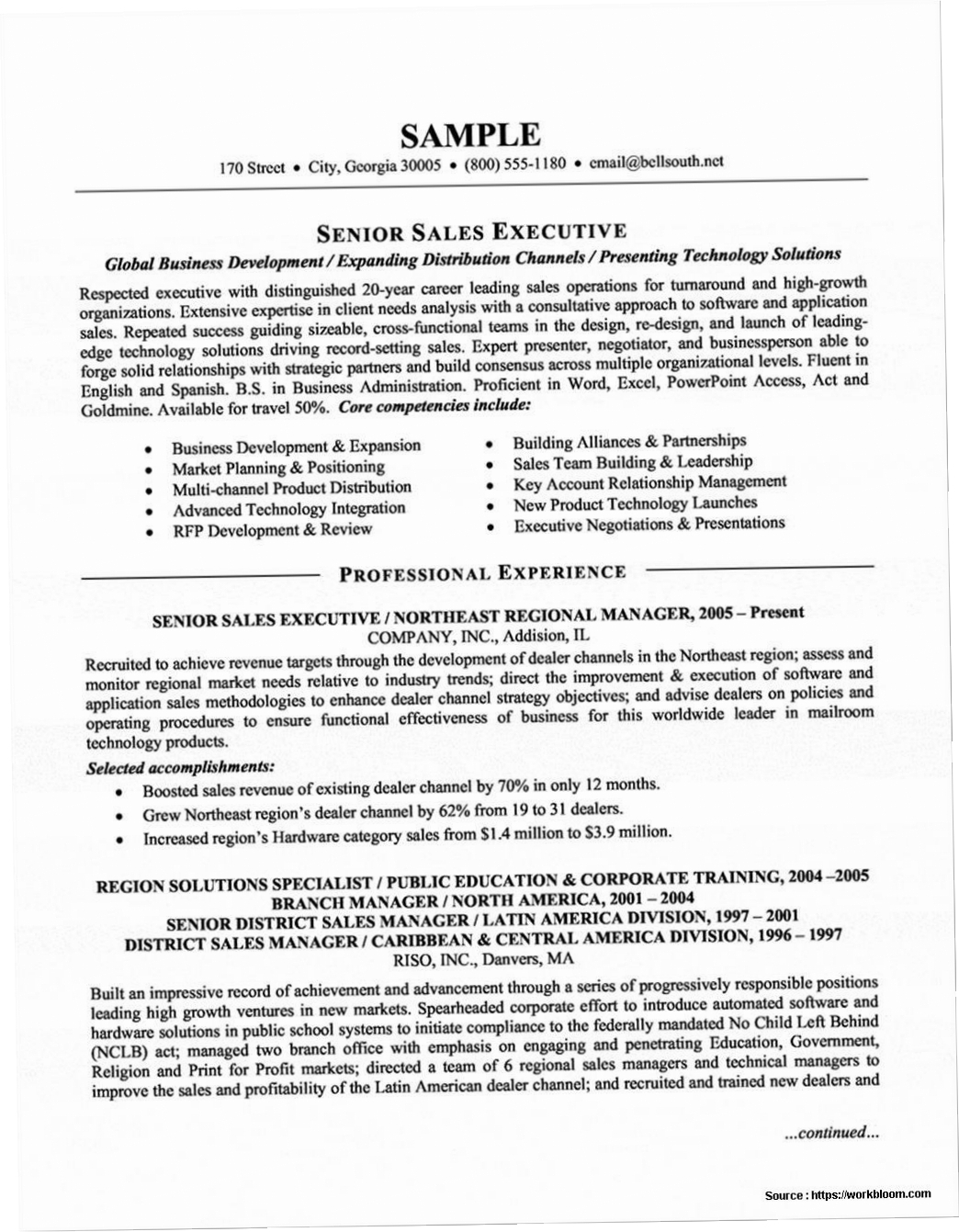 Ramit Sethi Resume Template - Salesman Resume Template Templates Oi1b Examples Word Sales