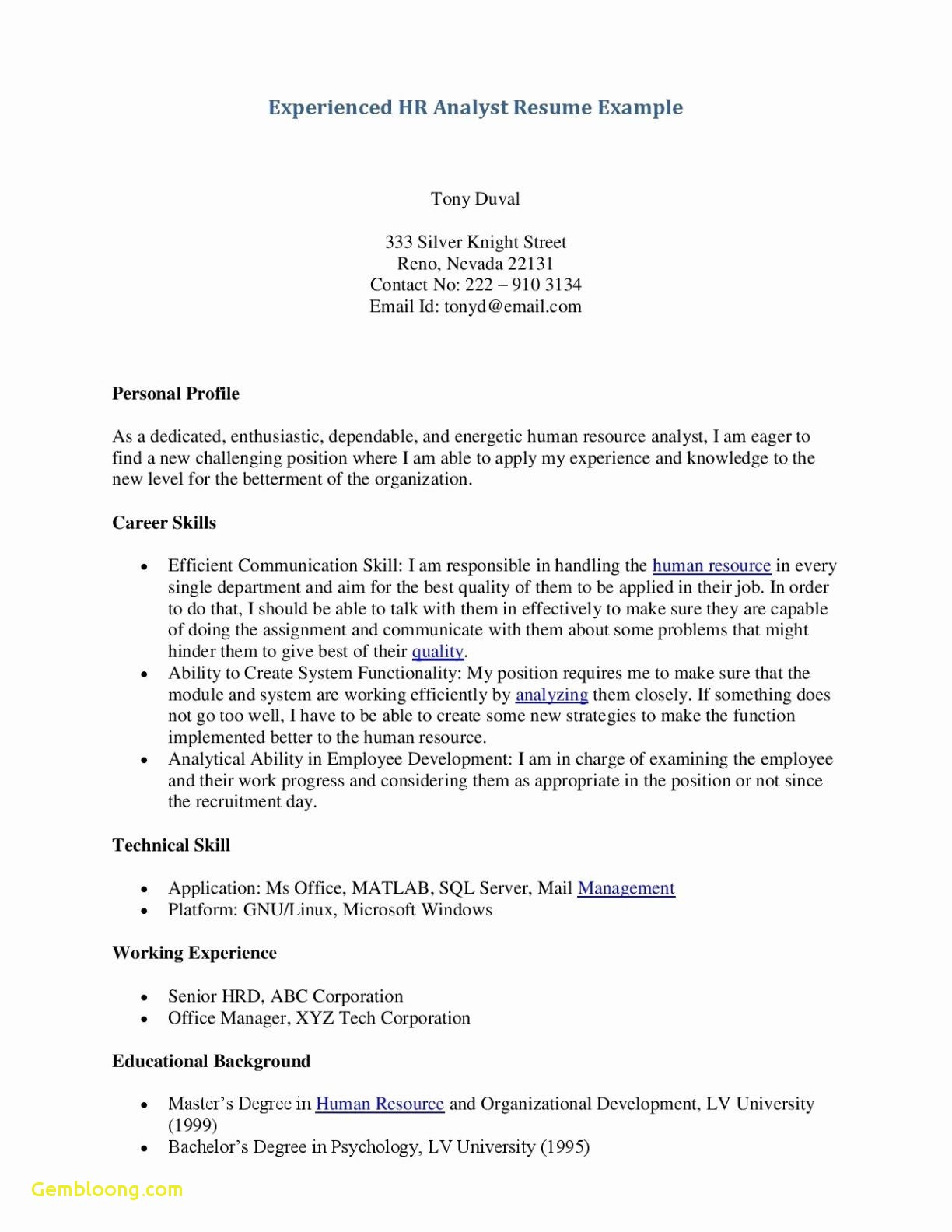 Rental Resume Template - Rental Cover Letter Template Examples