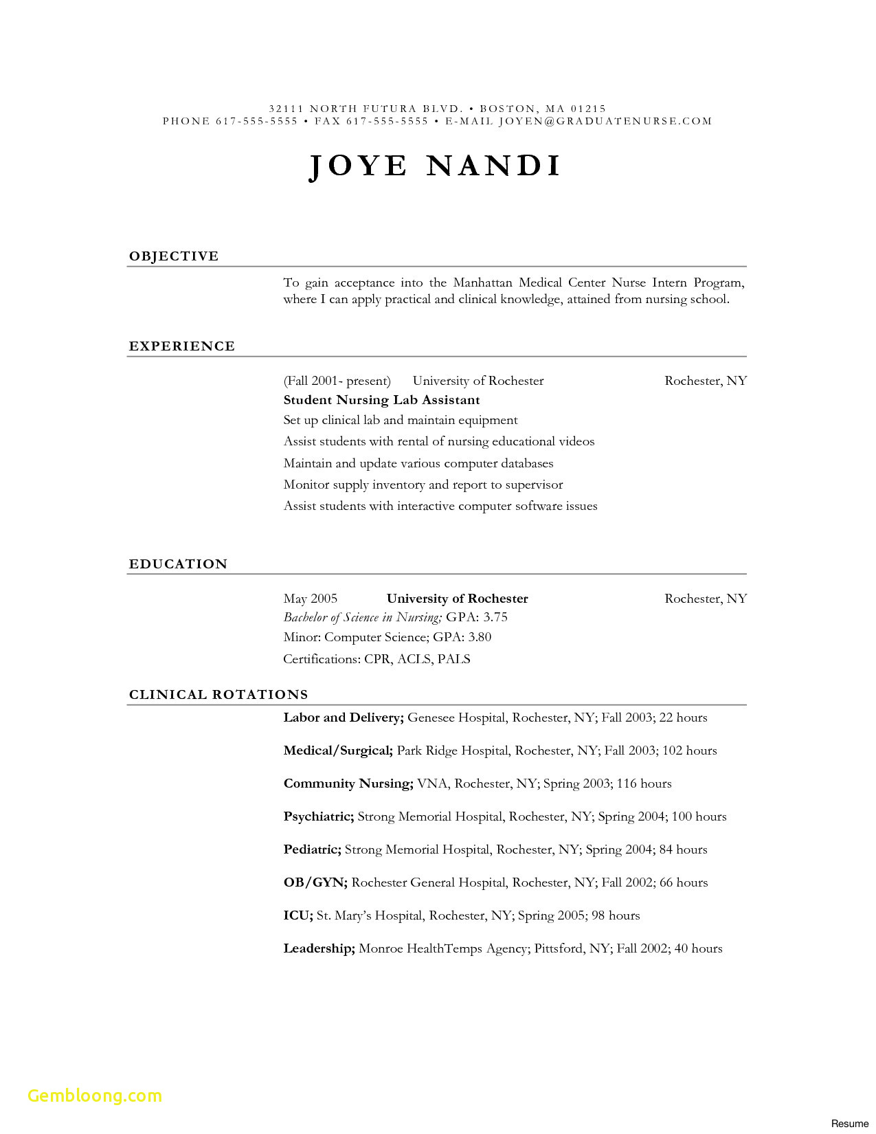 Rental Resume Template - Download Luxury Pharmacy Tech Resume