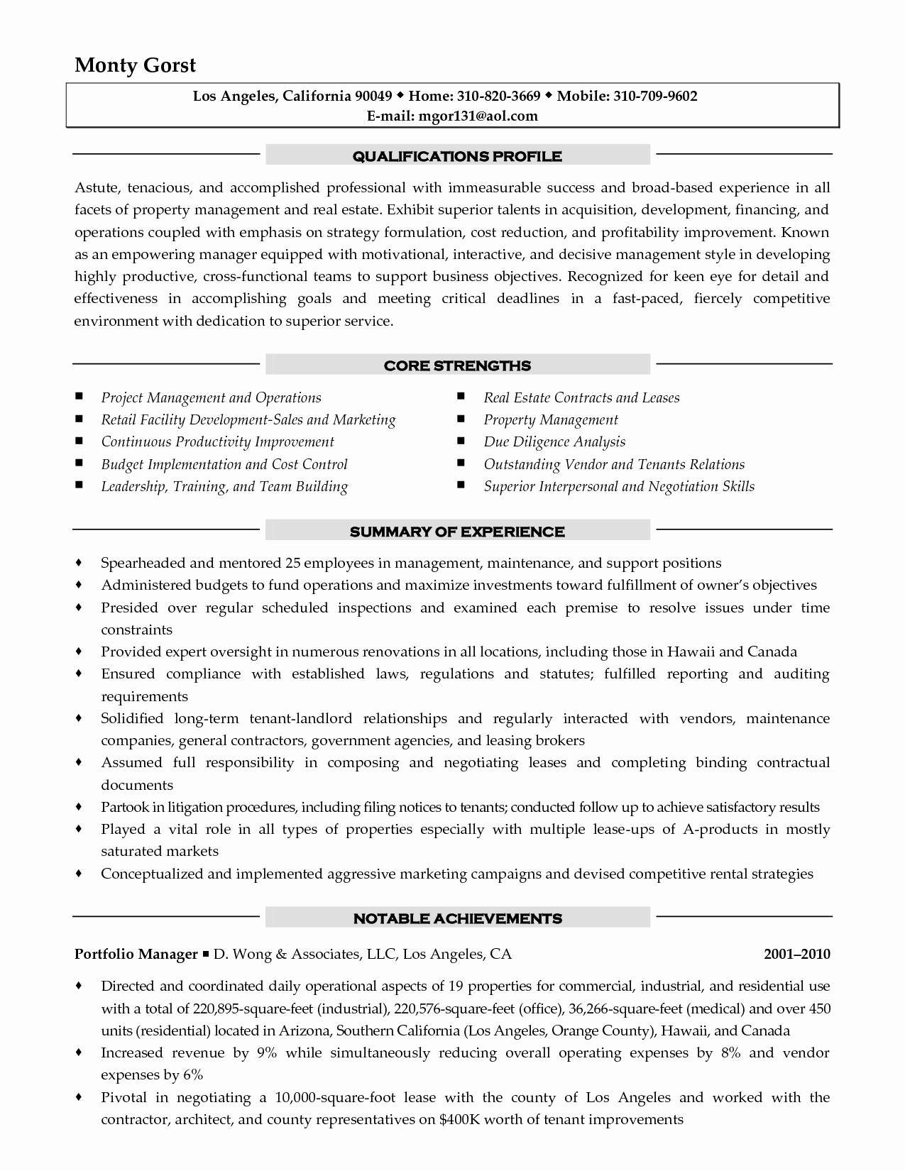 Residential Property Manager Resume Sample - Apartment Maintenance Supervisor Resume Beautiful Apartment Property