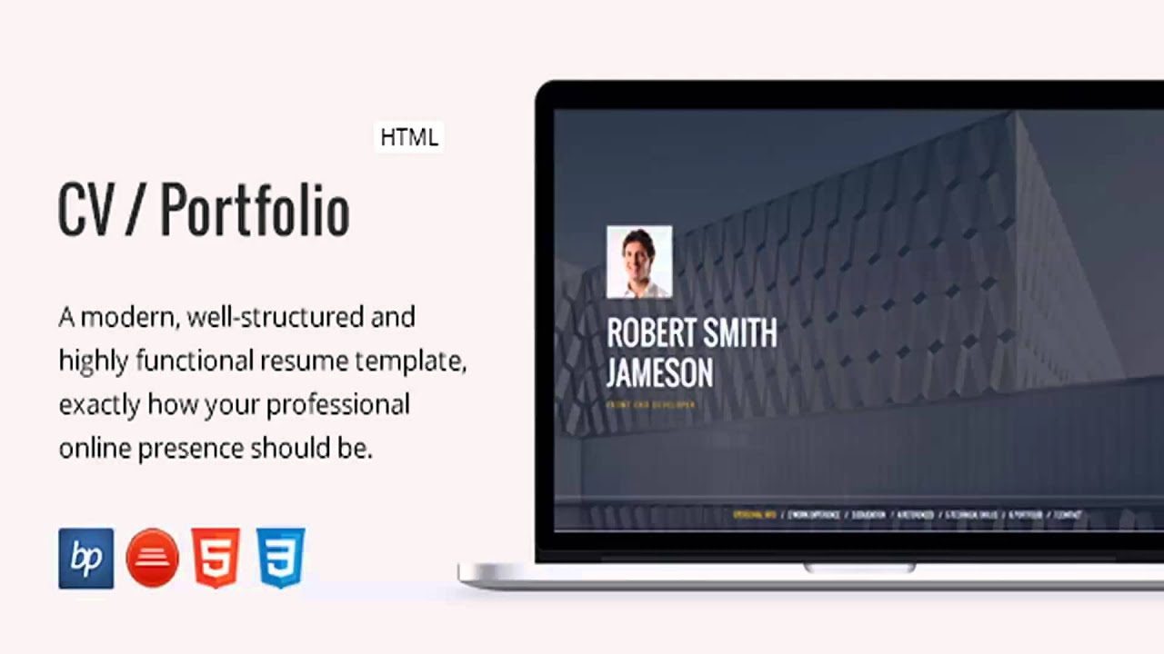 13 responsive resume template examples