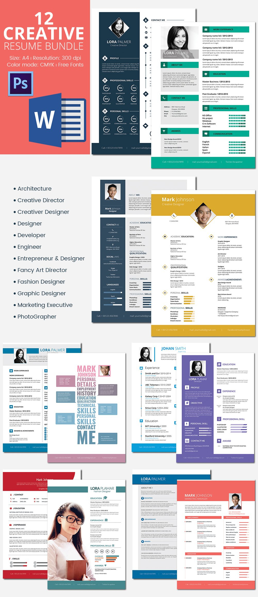 Responsive Resume Template Free Download - 41 E Page Resume Templates Free Samples Examples & formats