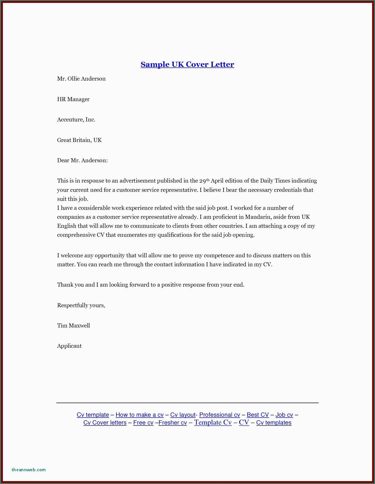 Resume and Cover Letter Template - the Informal Letter format Bank Letter format formal Letter Template