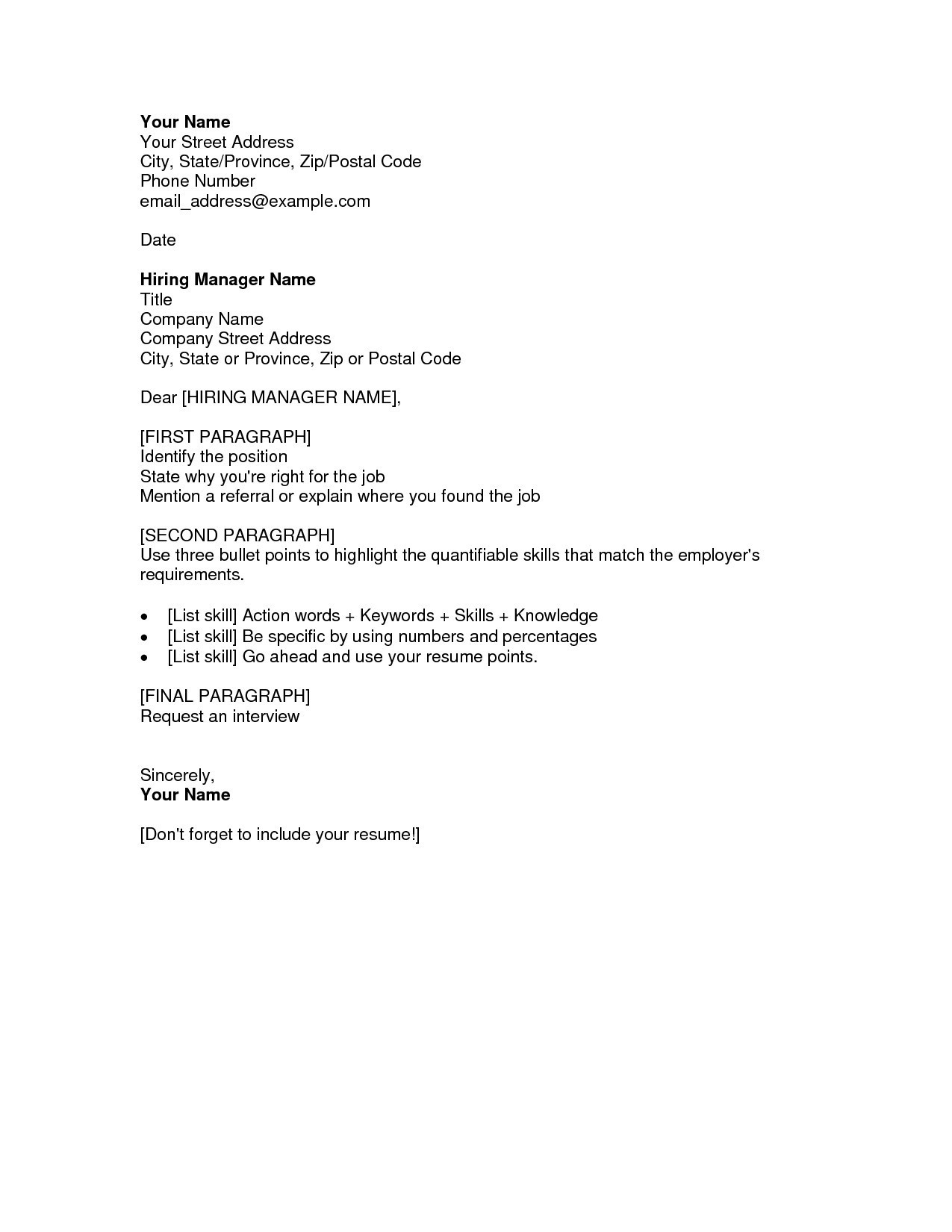 Resume and Cover Letter Writers - How to Address A Cover Letter to A Pany New Fresh Cover Letter