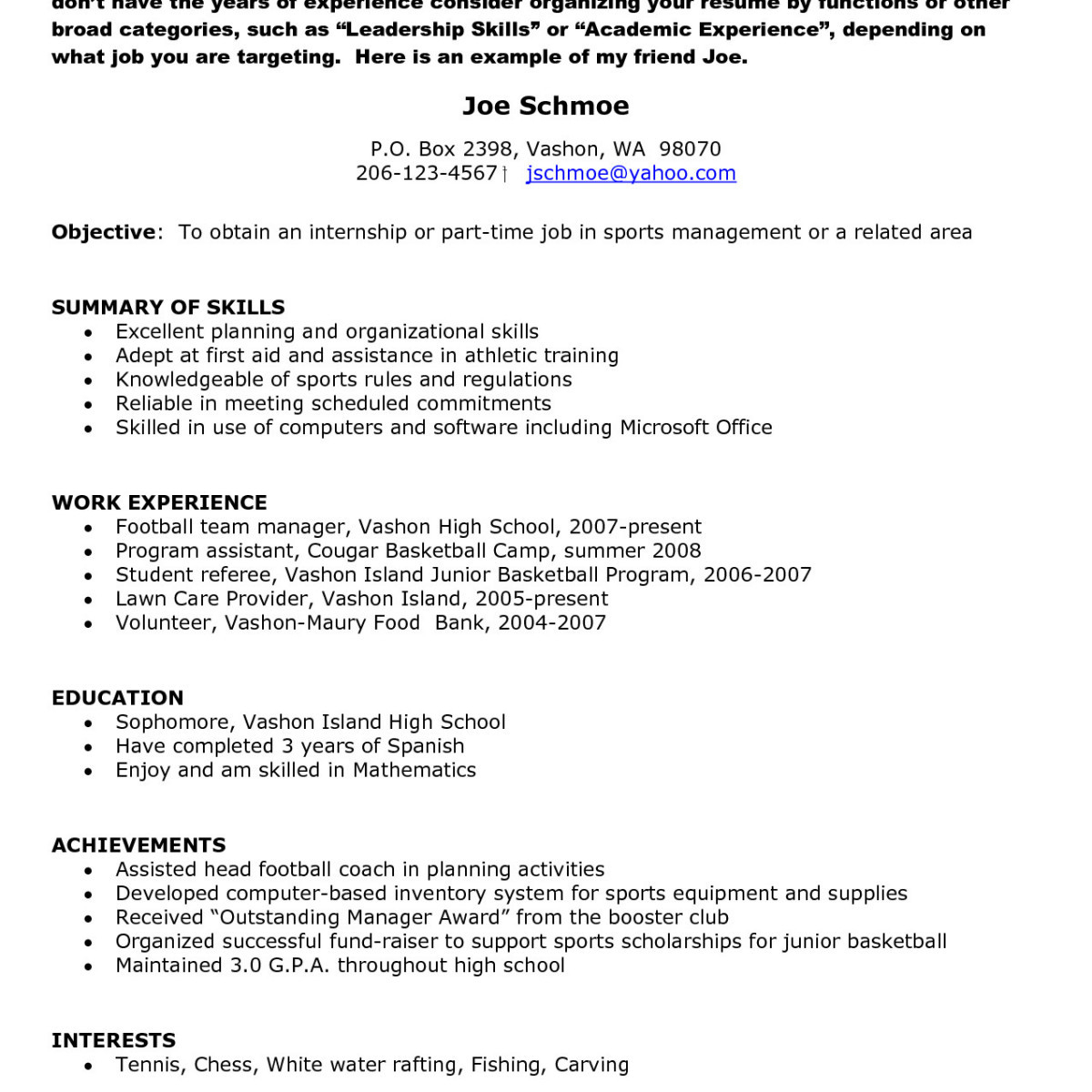 12 resume building tips examples