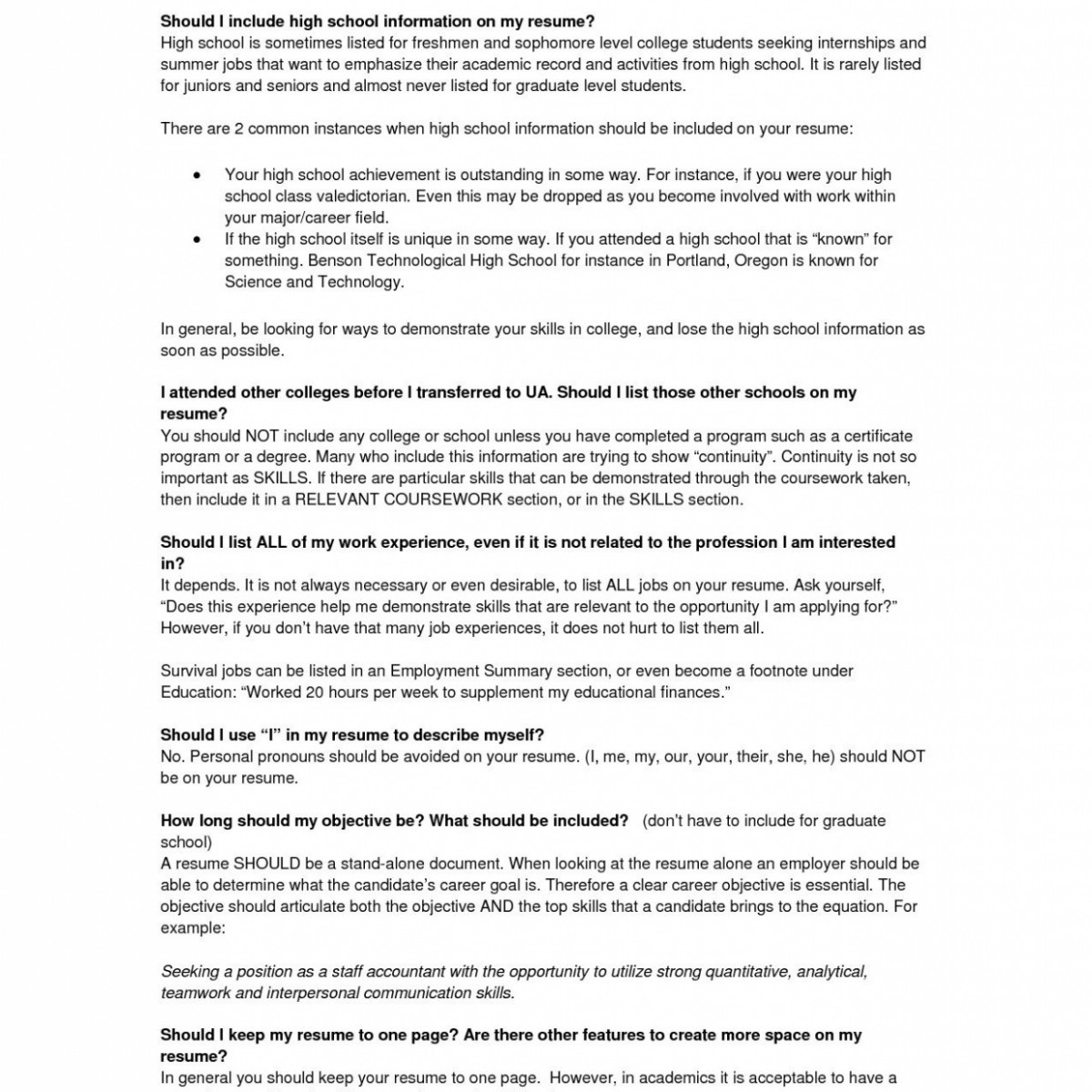 Resume College Graduate - Resume College Graduate New Unique Resume for Highschool Students