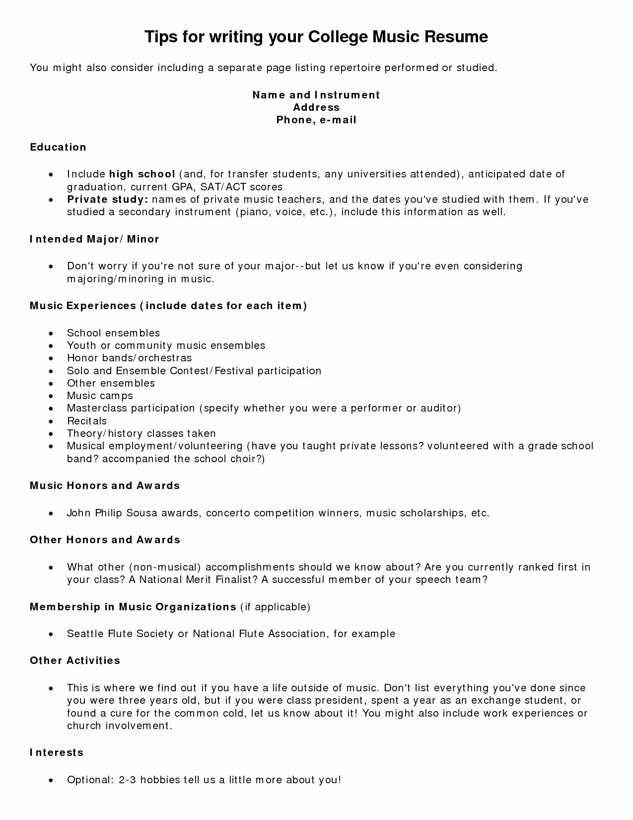 Resume Education Transfer Student - Tagalog Resume format Inspirational Resume Letter Intent Unique