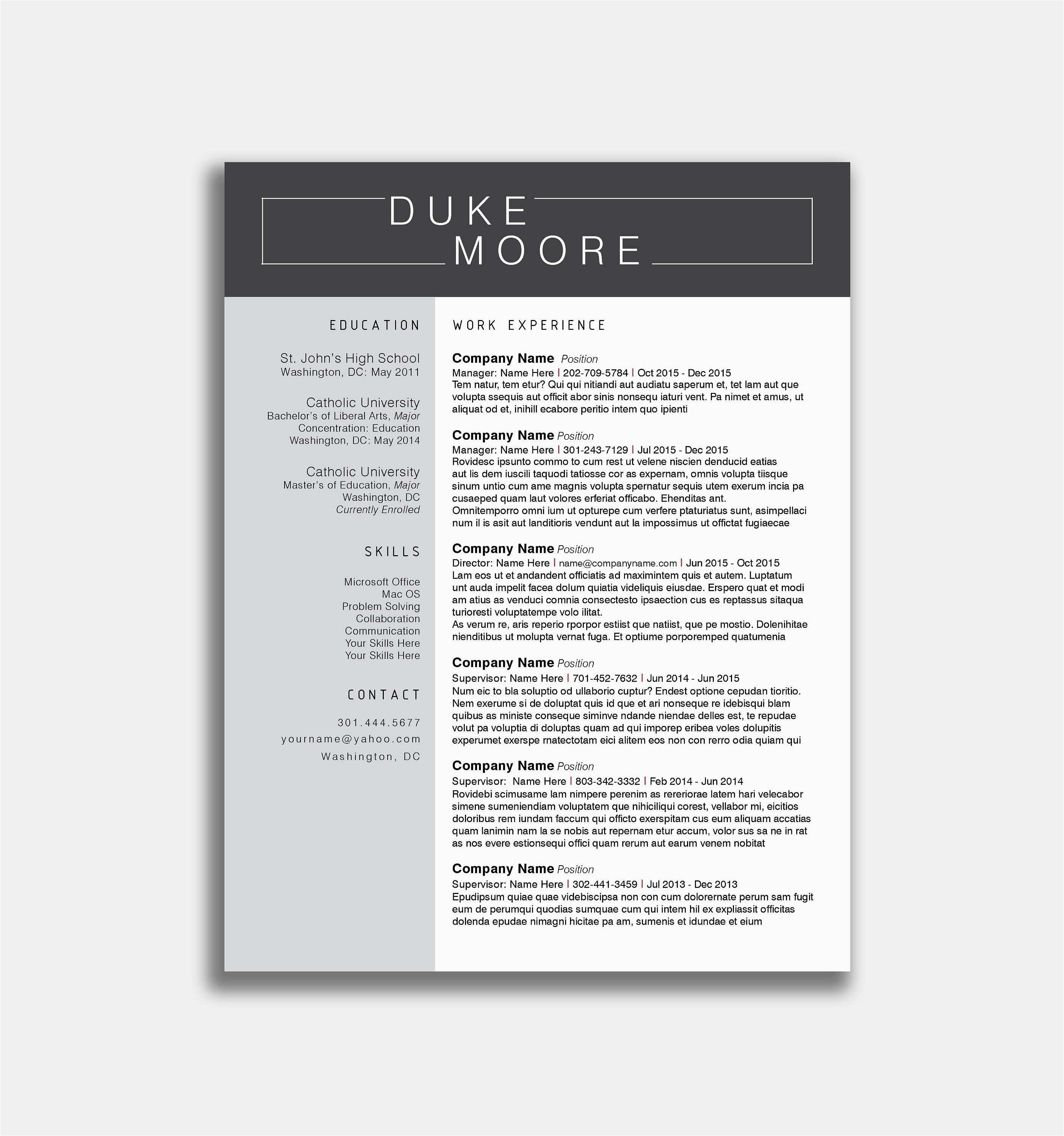 Resume Entry Level Template - Types Resume Example How to Type Resume Best New Entry Level