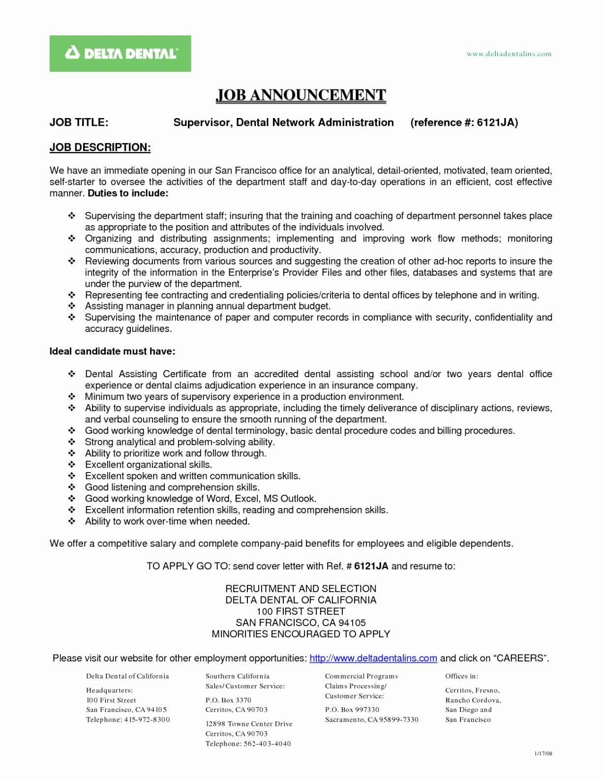 Resume for Dental Office Manager - Fice Manager Resume Awesome assistant Manager Resume Beautiful