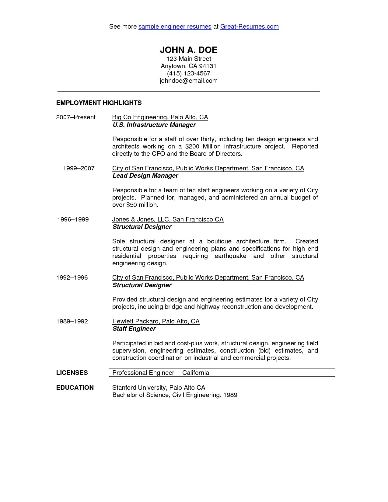 Resume for Entry Level Electrical Engineer - Electrical Engineering Co Refrence 19 Entry Level Electrical