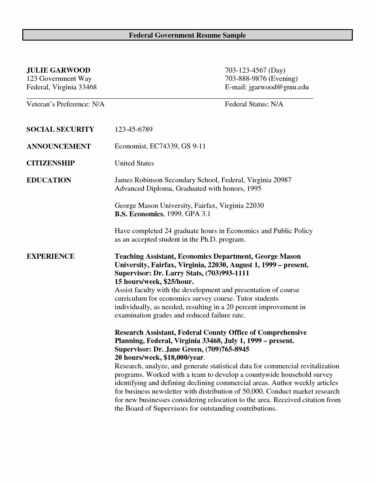 Resume for Government Job - Resume format for Freshers Free Download Latest Fresh Resume Samples