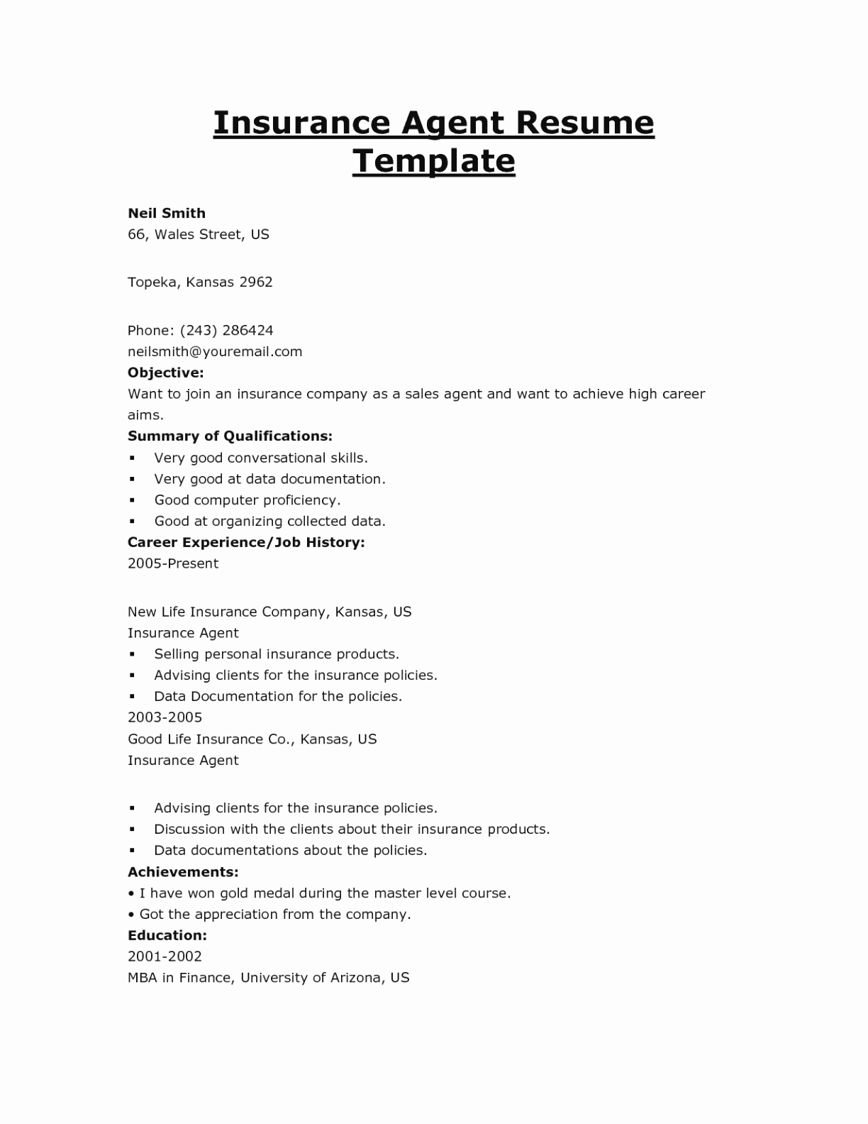 Resume for Insurance Agent - Insurance Certificate Template New Stay at Home Mom Cover Letter New