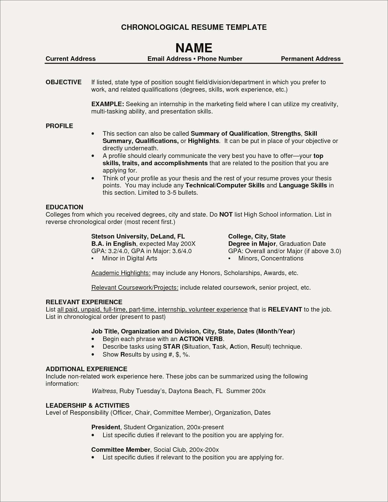 Resume for Marketing Job - Education Resume Example Inspirational Lovely Fresh Free Resume